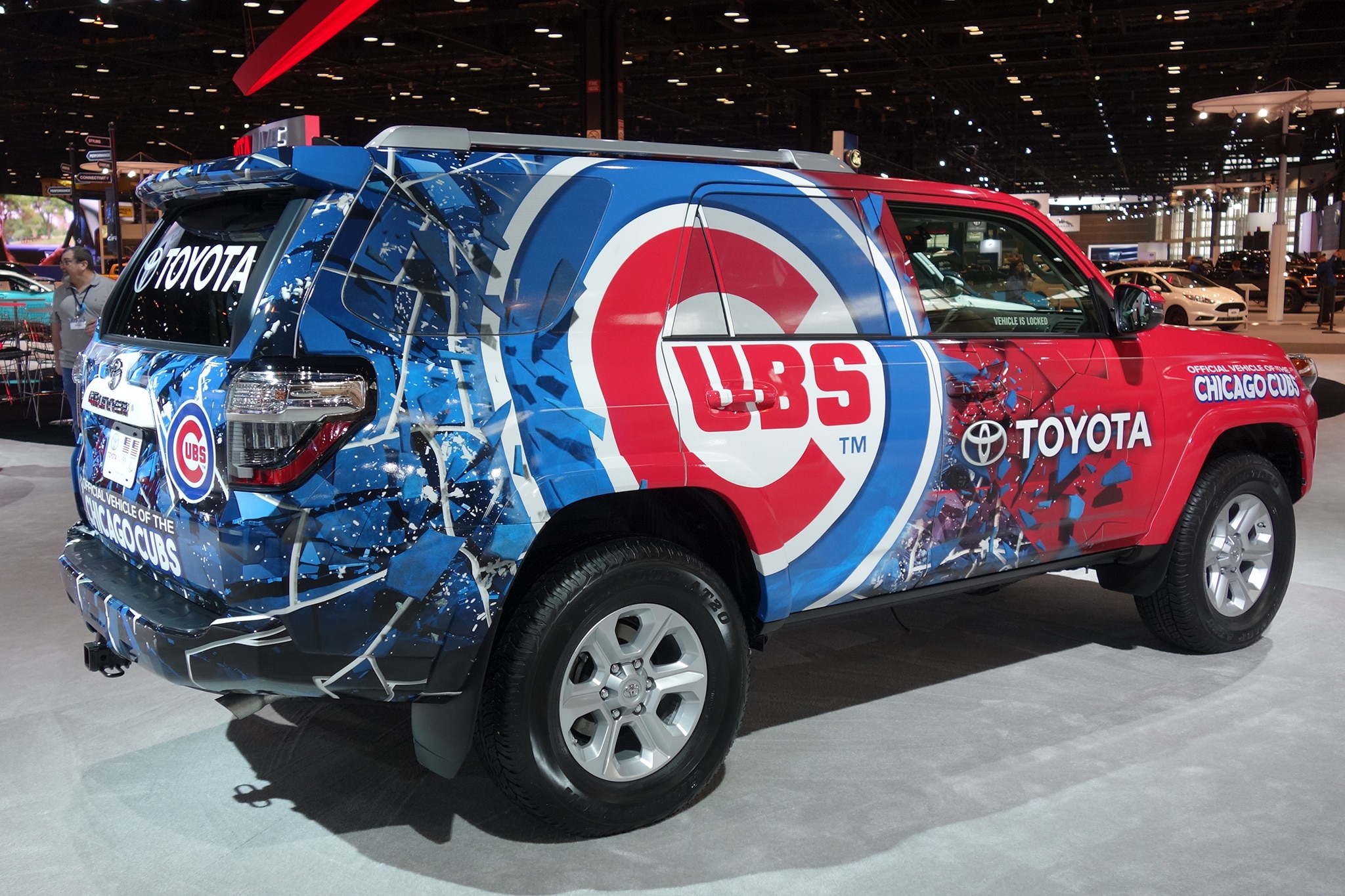 2018 Chicago Auto Show_Toyota Cubs