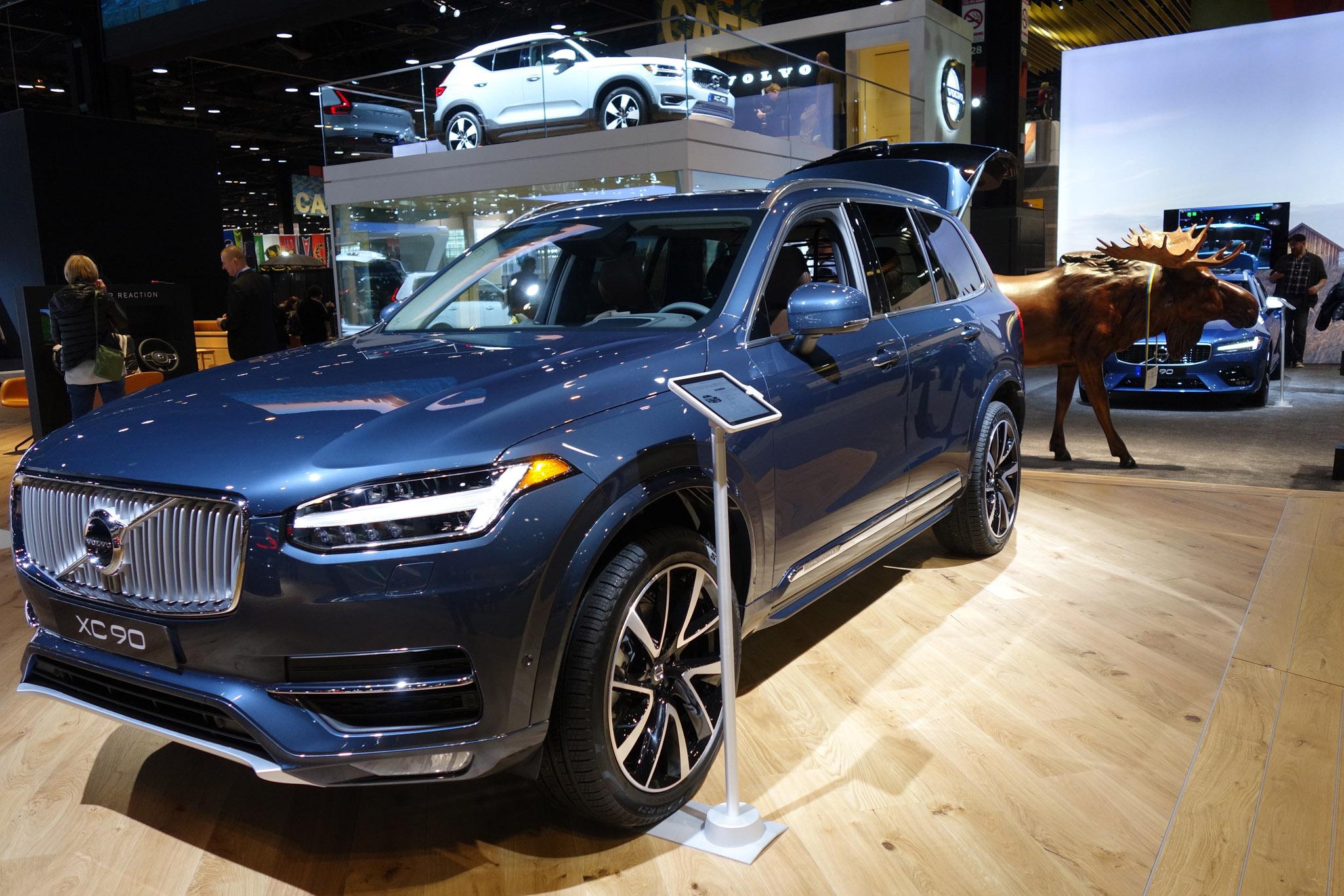 2018 Chicago Auto Show_Volvo XC 90