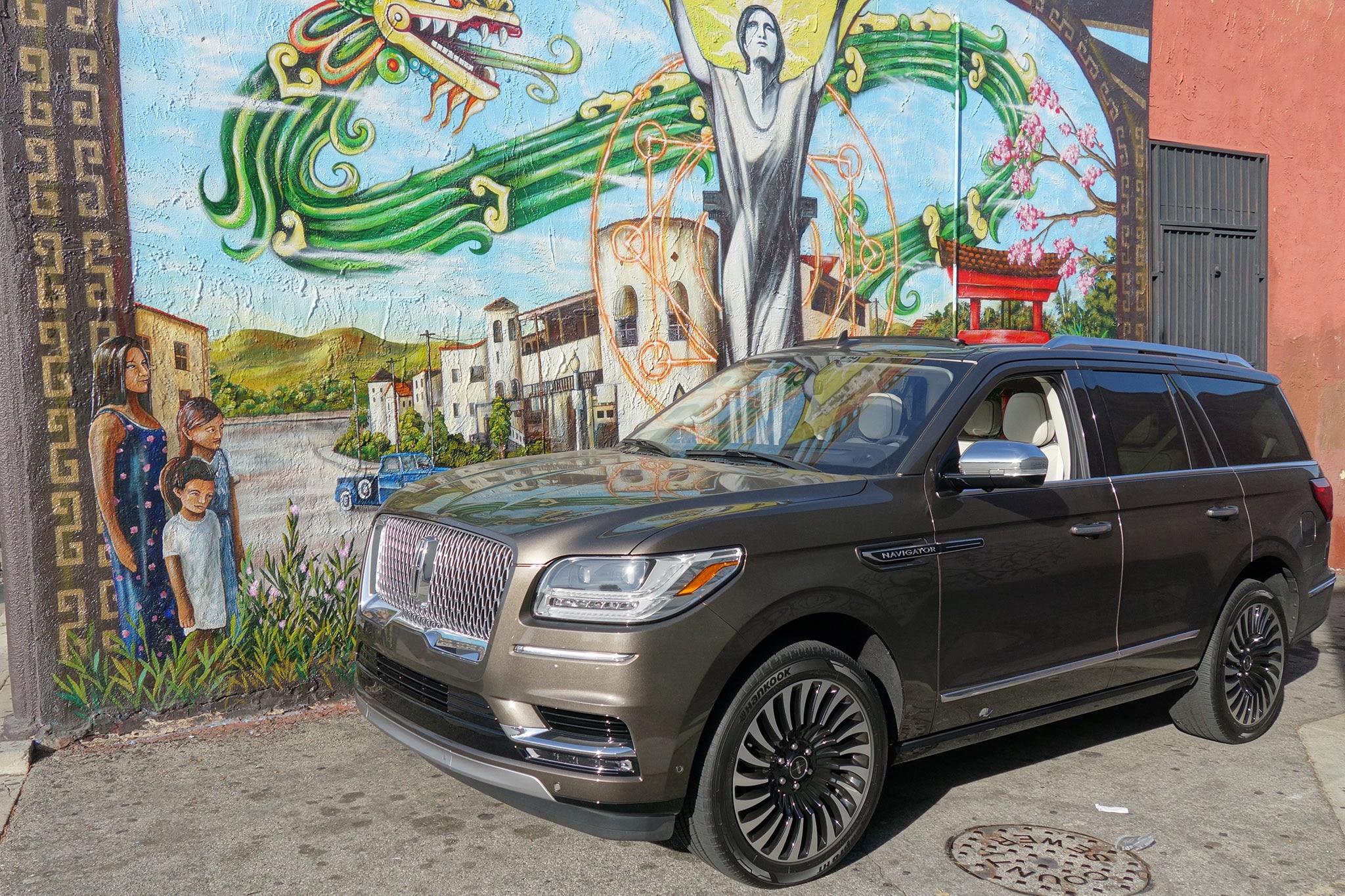 2018 Lincoln Navigator L Black Label: Review, Price >> 2018 Lincoln Navigator 4x4 Black Label Edition Quick Take