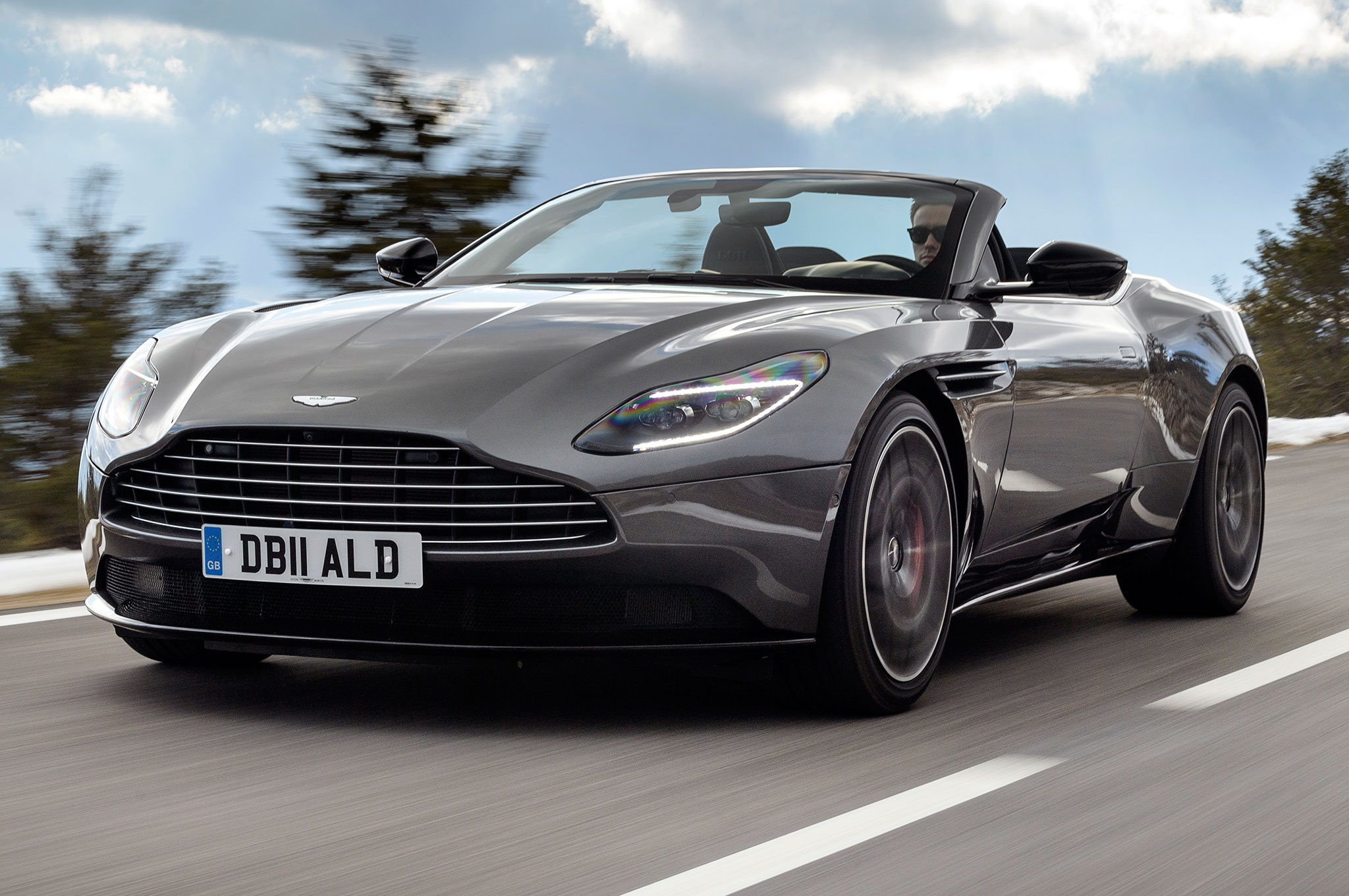 2019 Aston Martin Db11 Volante First Drive Review Automobile Magazine