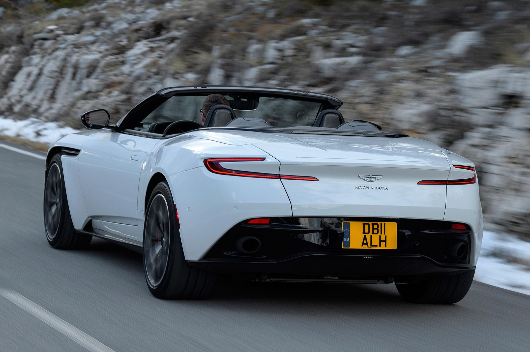 2019 Aston Martin Db11 Volante First Drive Review Automobile Magazine