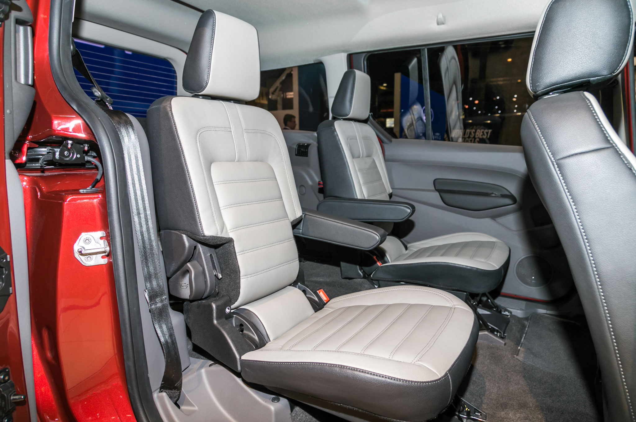 Ford Takes On The Chrysler Pacifica With An Updated Transit Connect 2015 Wagon Interior Show More