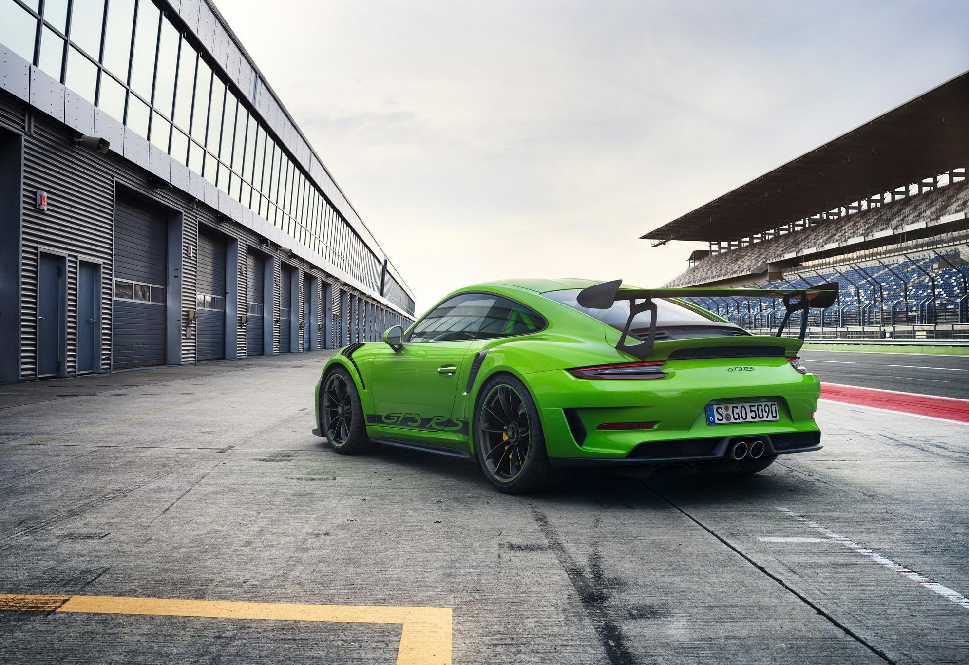 2019 Porsche 911 Gt3 Rs Starts At 188 550 Automobile