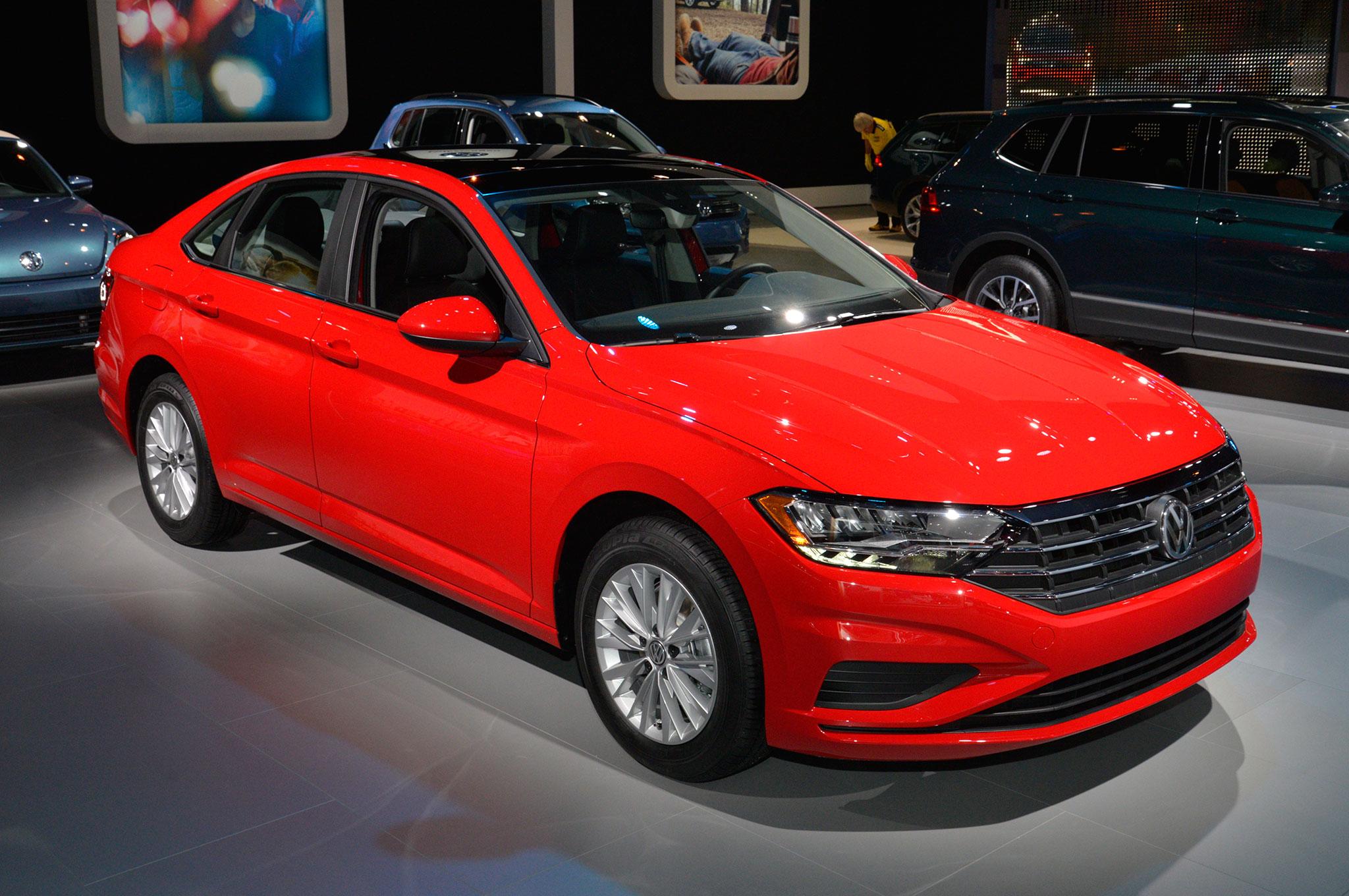 Exploring the Design of the 2019 Volkswagen Jetta ...