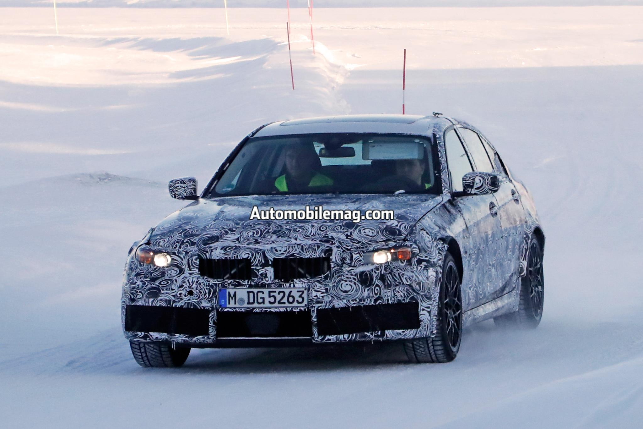 BMW M3 Spied 14