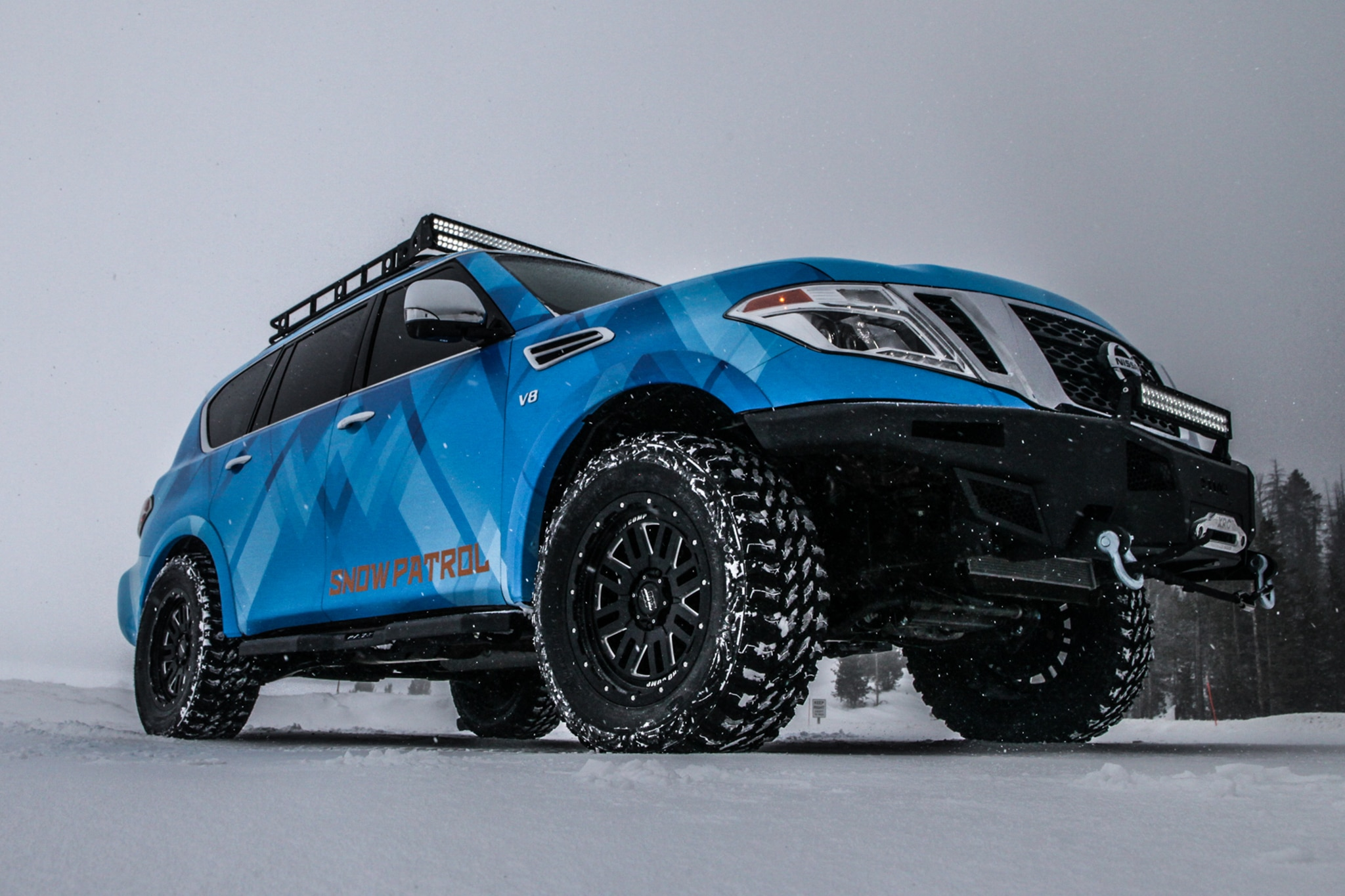Best Snow Tires >> Nissan Unveils 370Zki and Armada Snow Patrol Concepts at Chicago | Automobile Magazine