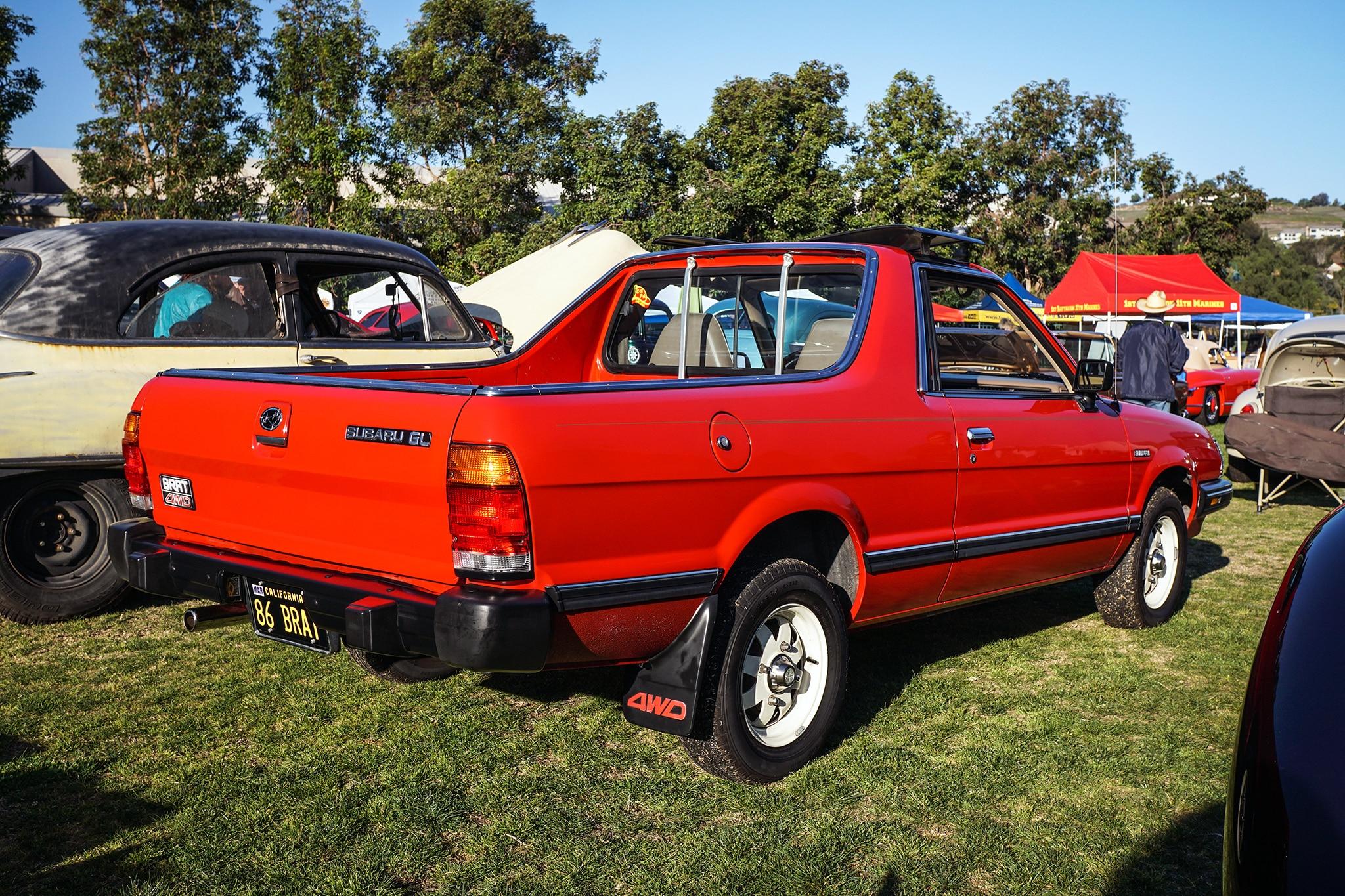 Six Cool Cars We Spotted At The San Juan Capistrano Car Show - Subaru car show california
