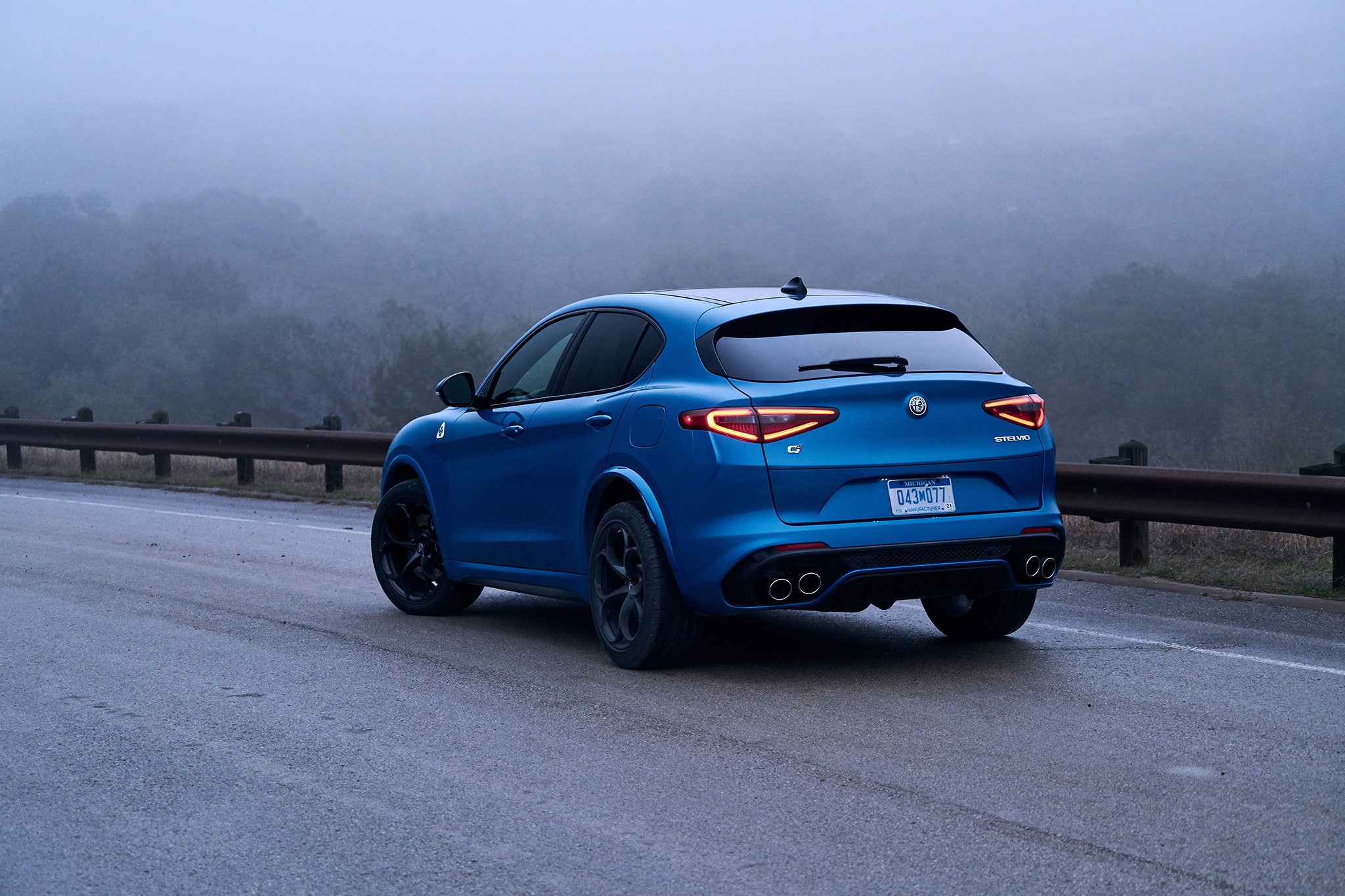 2018 alfa romeo stelvio quadrifoglio first drive review automobile magazine. Black Bedroom Furniture Sets. Home Design Ideas