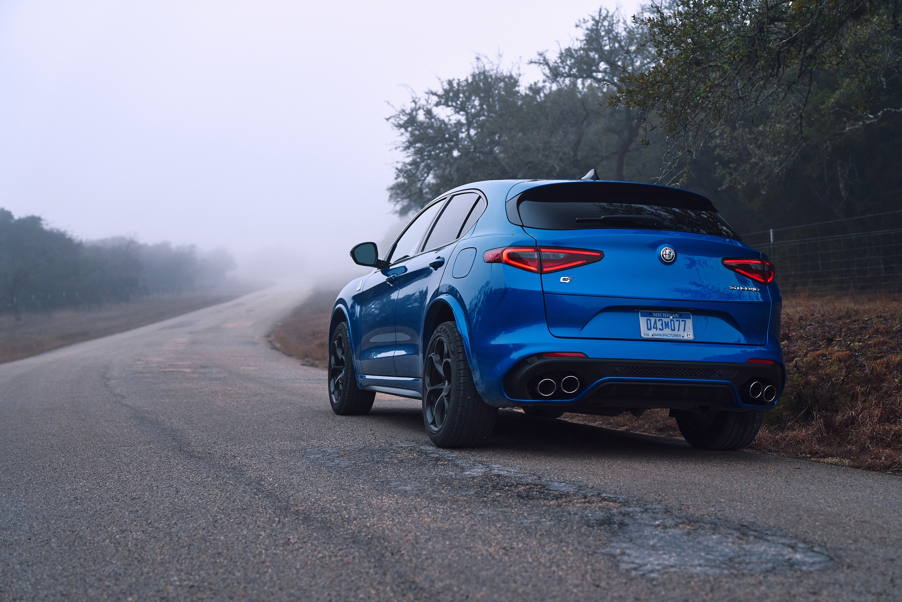2018 Alfa Romeo Stelvio Quadrifoglio First Drive Review Automobile