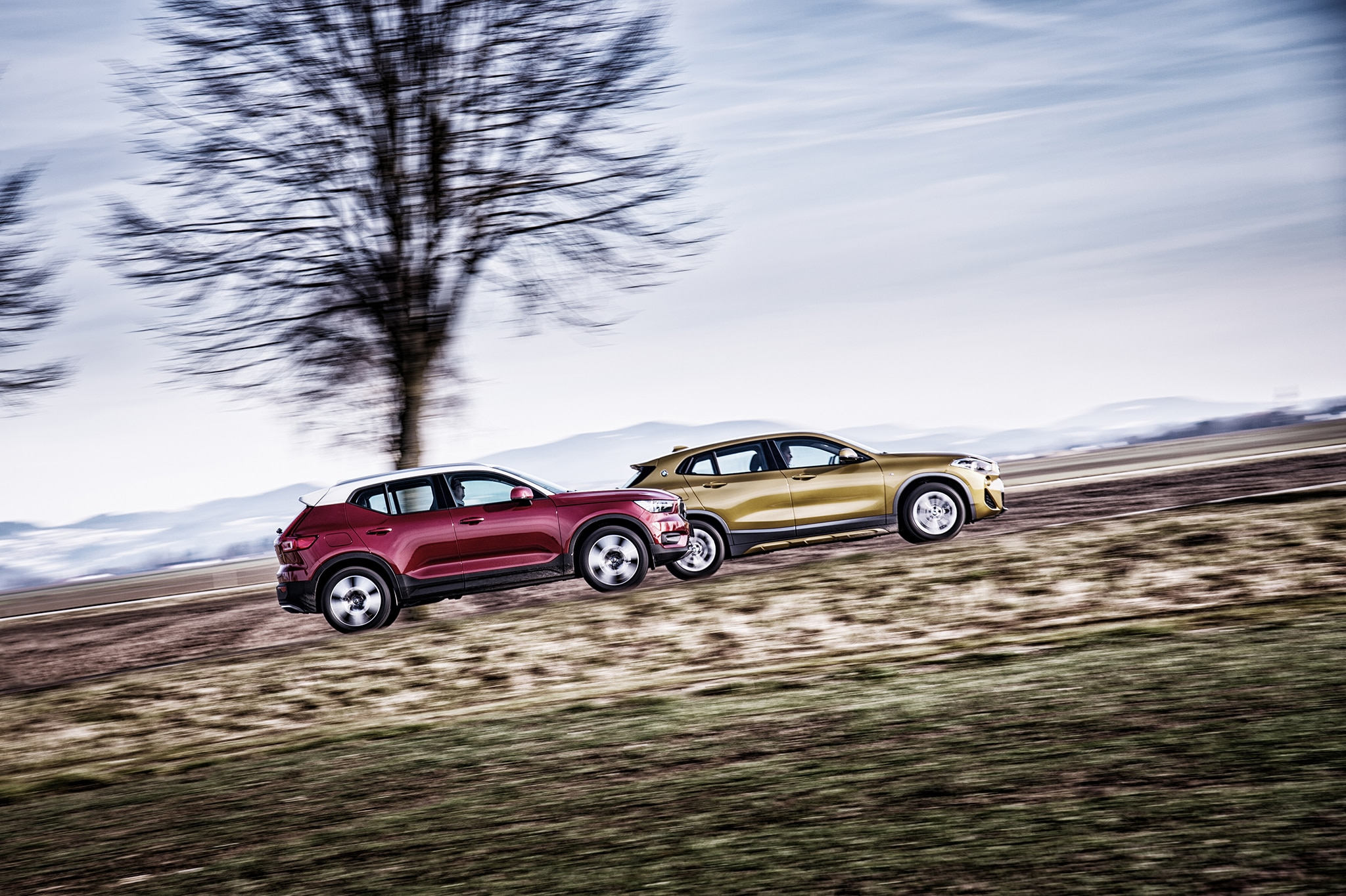 2018 BMW X2 vs 2019 Volvo XC40 vs 2018 Jaguar E Pace