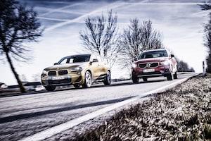 2018 BMW X2 Vs 2019 Volvo XC40 Vs 2018 Jaguar E Pace 23