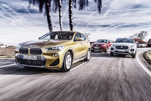 2018 BMW X2 Vs 2019 Volvo XC40 Vs 2018 Jaguar E Pace 31