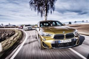 2018 BMW X2 Vs 2019 Volvo XC40 Vs 2018 Jaguar E Pace 36