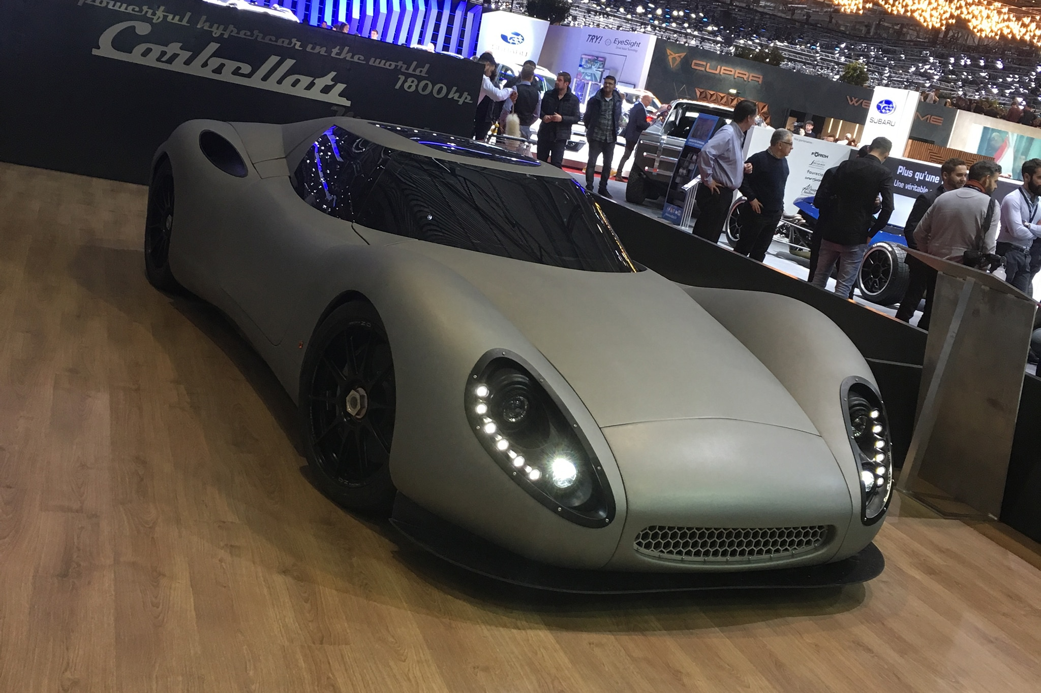 Six Wild Supercars And Other Fantastic Creations At The Geneva - Auto show near me