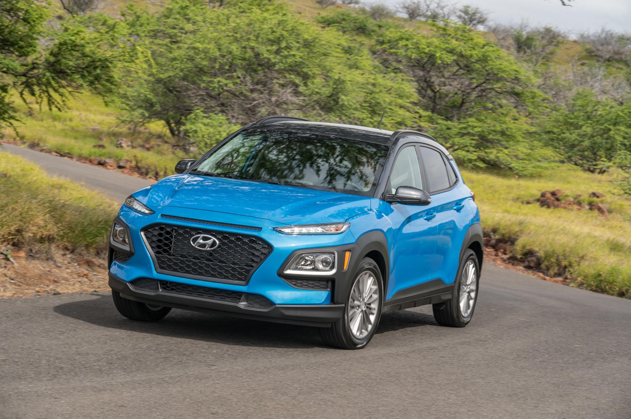 2018 Hyundai Kona Front Three Quarter 7