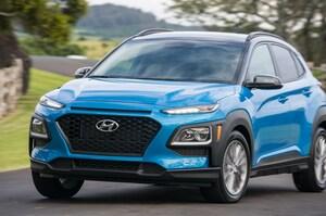 2018 Hyundai Kona Front Three Quarter In Motion 15