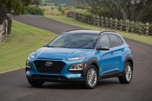 2018 Hyundai Kona Front Three Quarter In Motion 16