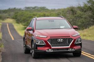 2018 Hyundai Kona Front Three Quarter In Motion 21