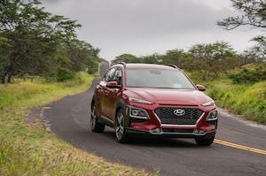 2018 Hyundai Kona Front Three Quarter In Motion 26