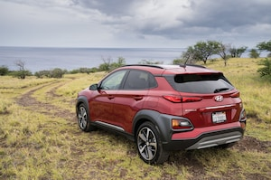 2018 Hyundai Kona Rear Three Quarter 5