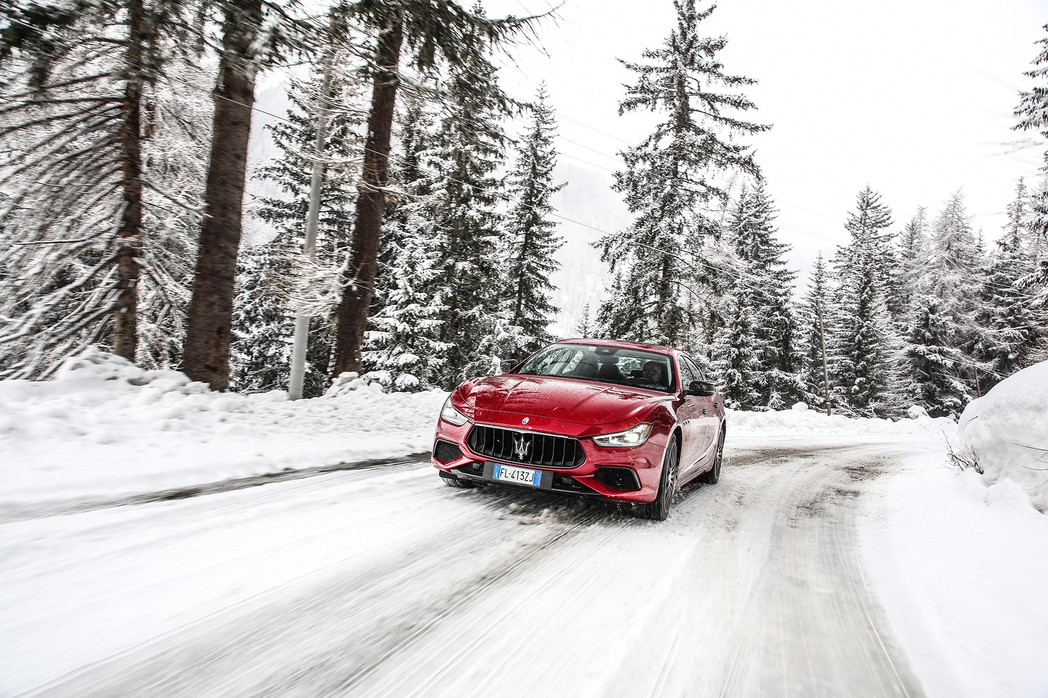 Maserati Ghibli S Q4 0 60 >> Italian Ice: Exploring Maserati's Winter Driving Program in the 2018 Ghibli, Levante, and ...