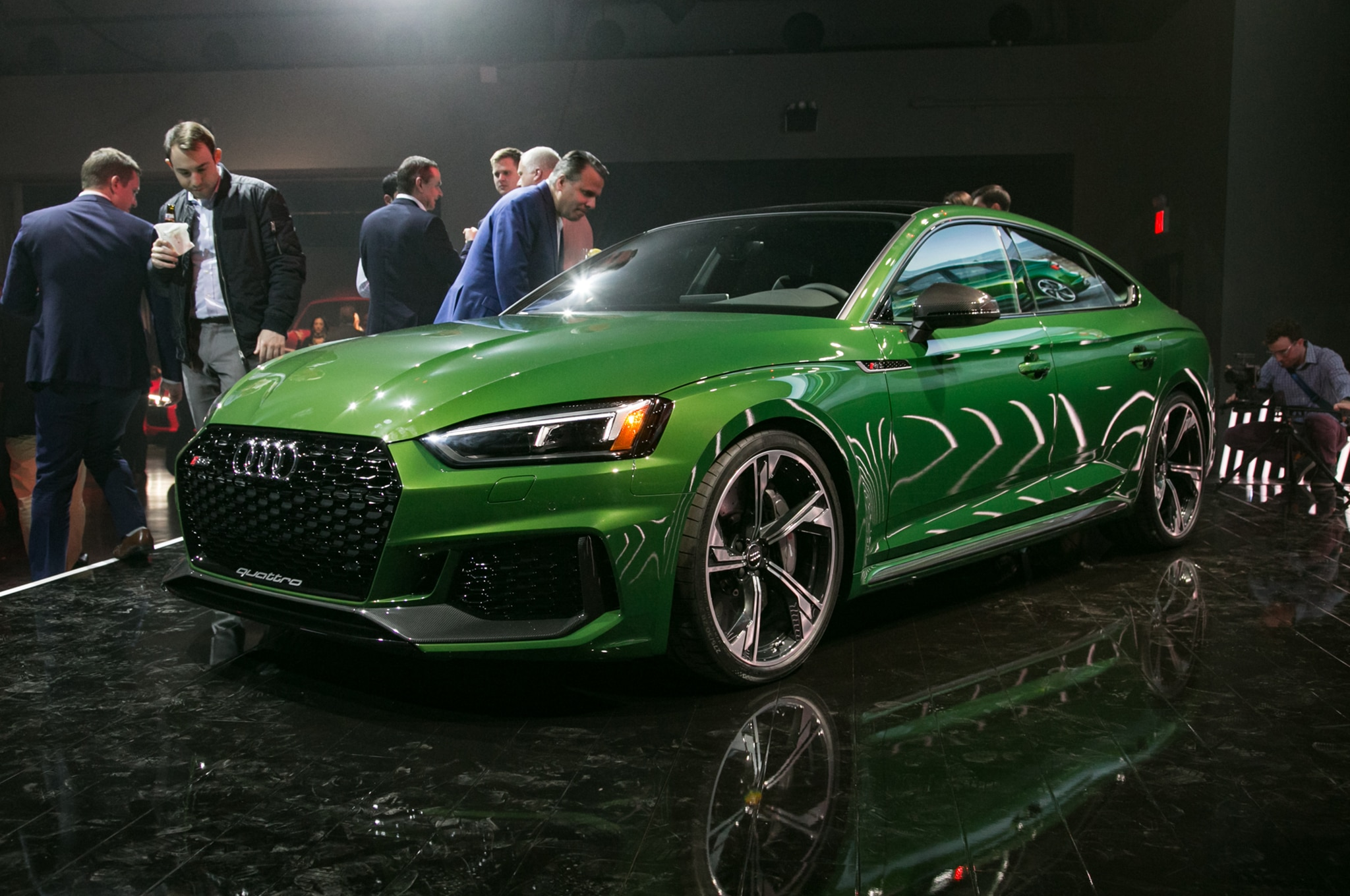 2019 Audi RS 5 Sportback Front Three Quarter 01