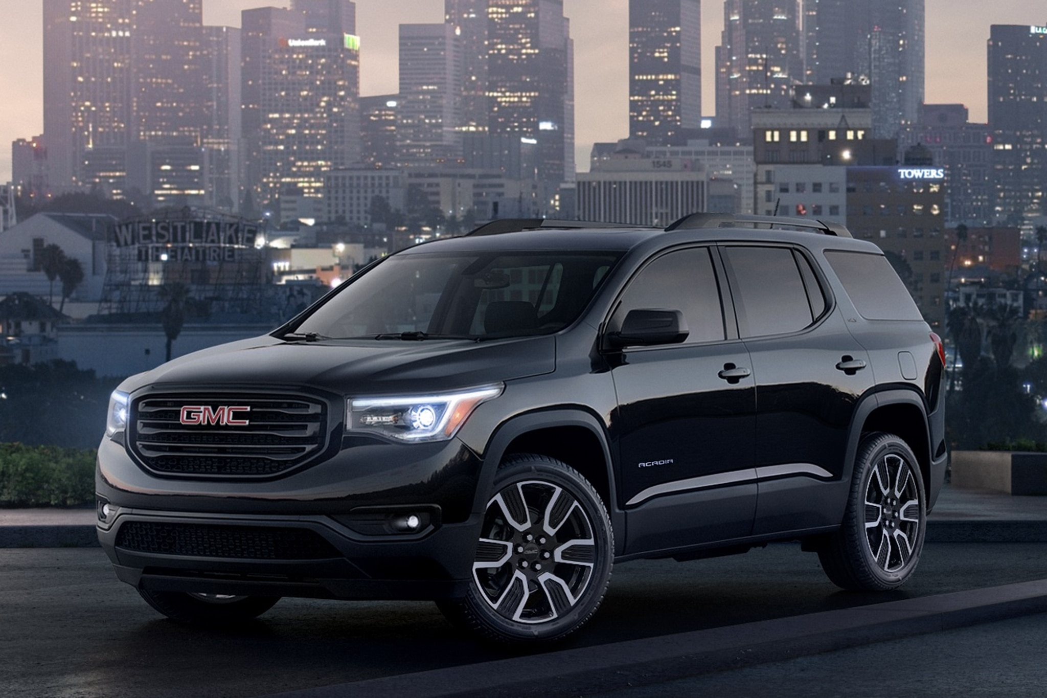 2019 Gmc Acadia And Terrain Sport Black Editions For New York Automobile Magazine
