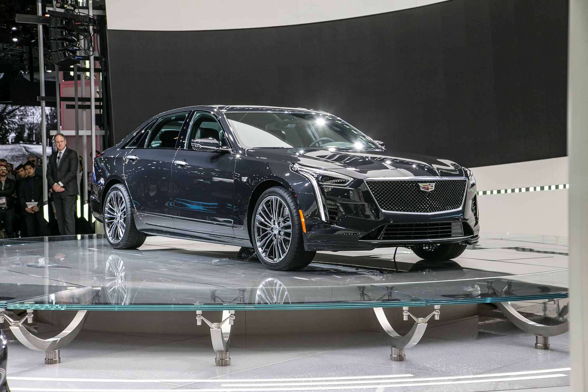 cadillac unleashes its own v