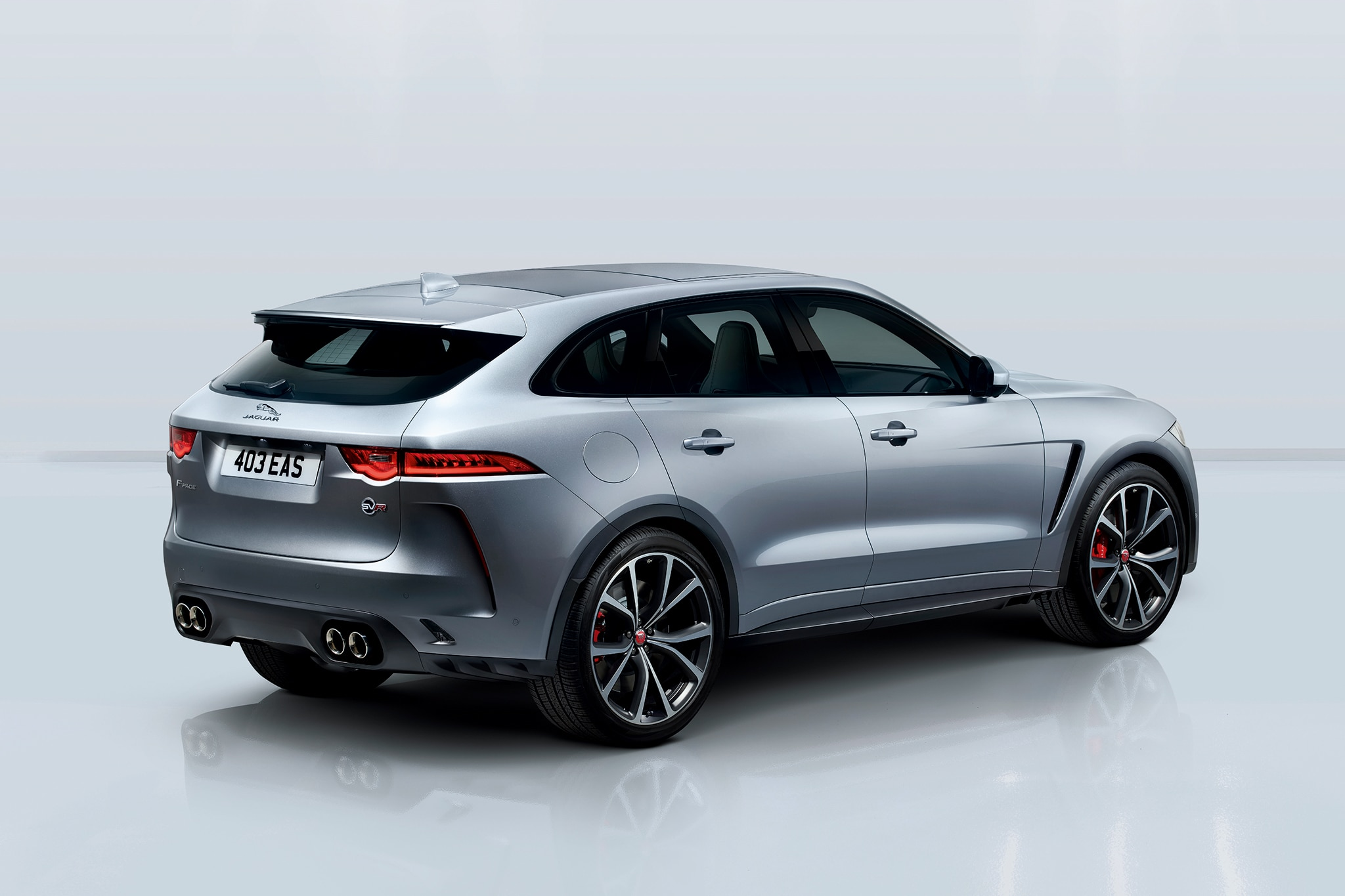 2019 Jaguar F-Pace SVR: News, Design, Engine, Price >> 550 Hp 2019 Jaguar F Pace Svr Is The V 8 Variant We Ve Been