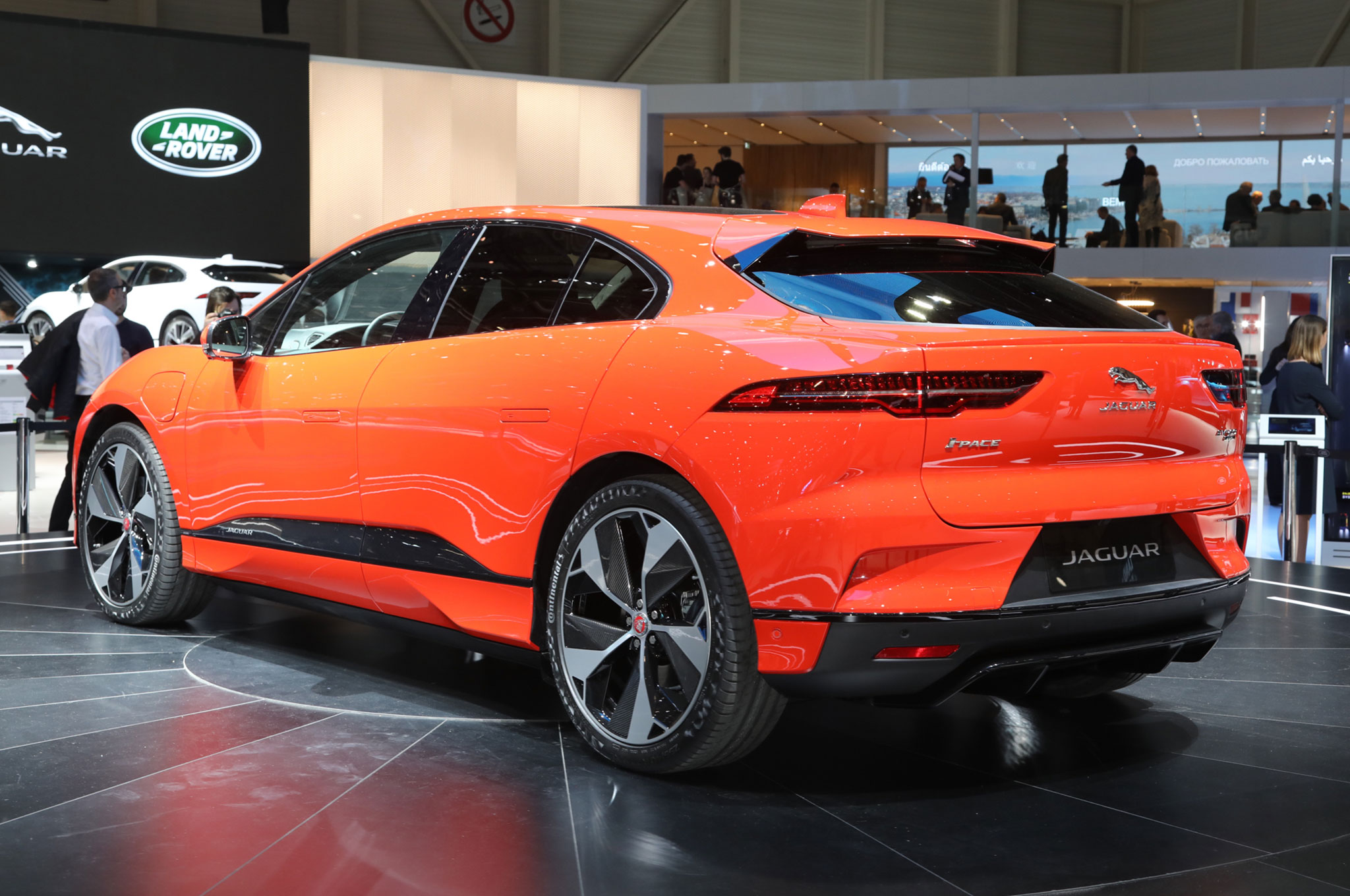 All-Electric 2019 Jaguar I-Pace Launches with 240 Miles of ...