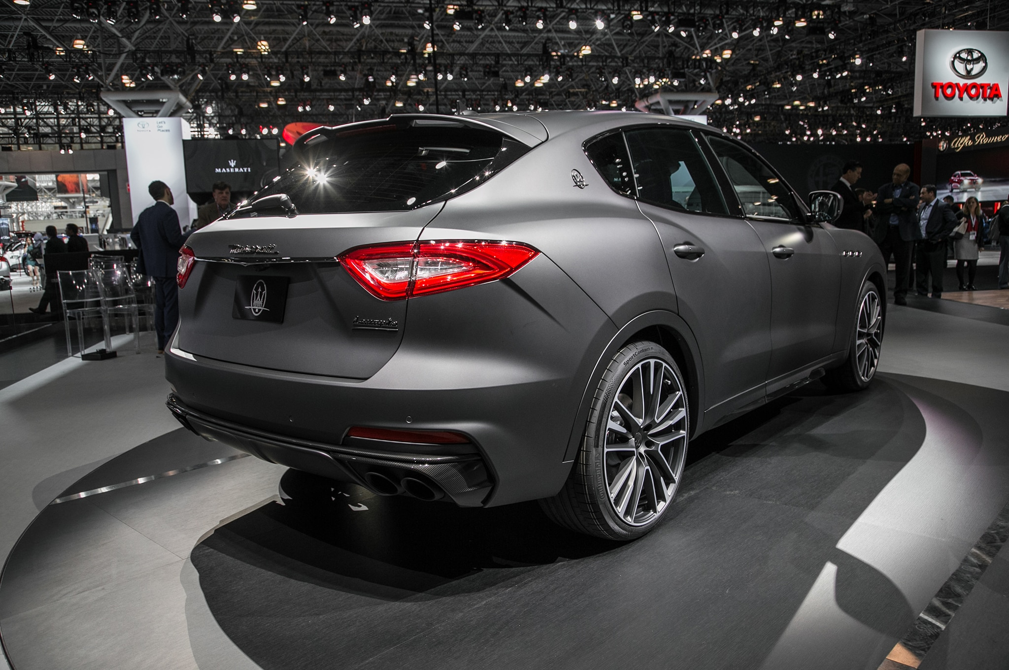 2019 maserati levante trofeo is one of the quickest maseratis yet automobile magazine. Black Bedroom Furniture Sets. Home Design Ideas