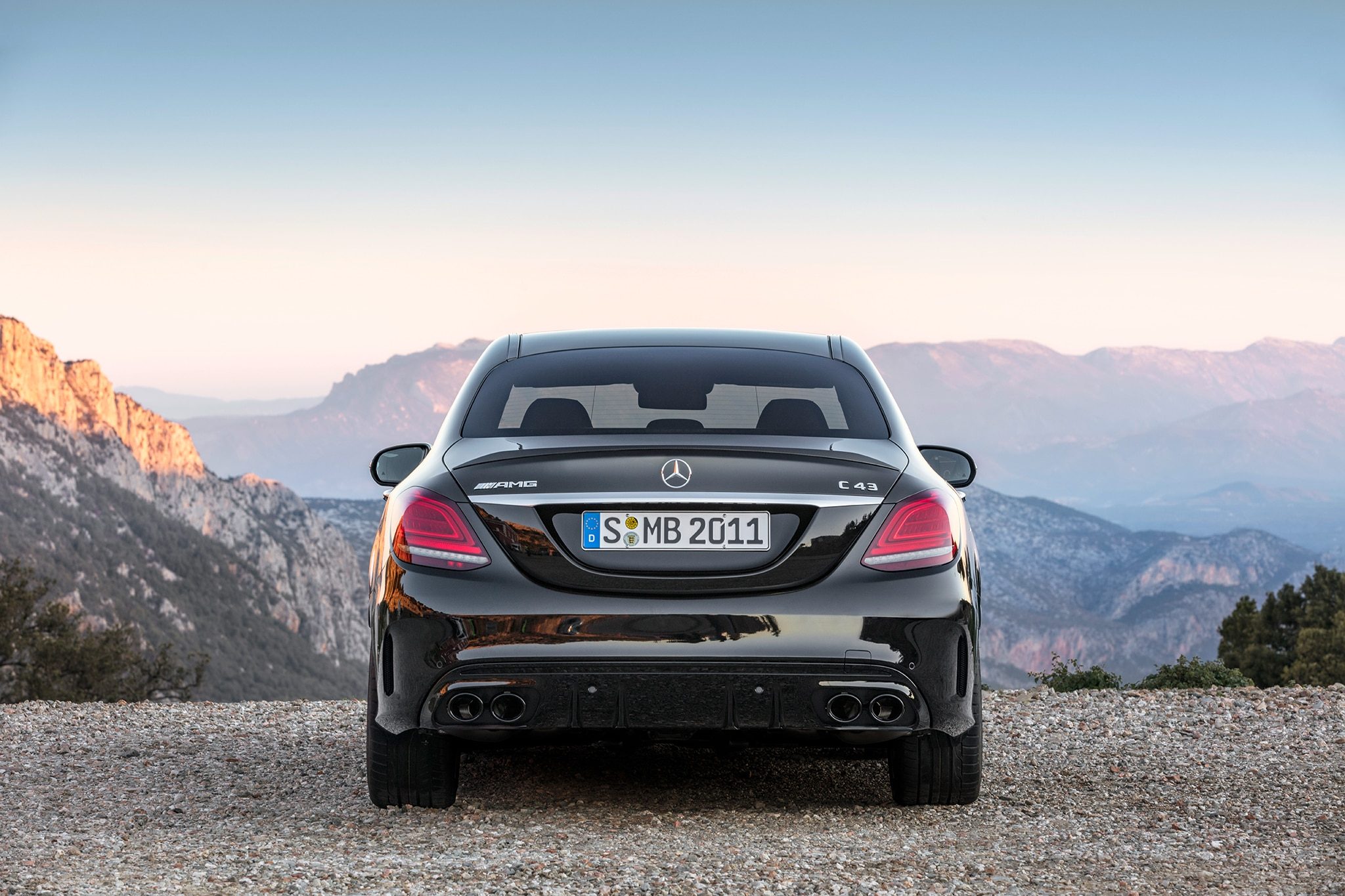 2019 Mercedes Amg C43 Sedan Debuts In Geneva Automobile Magazine