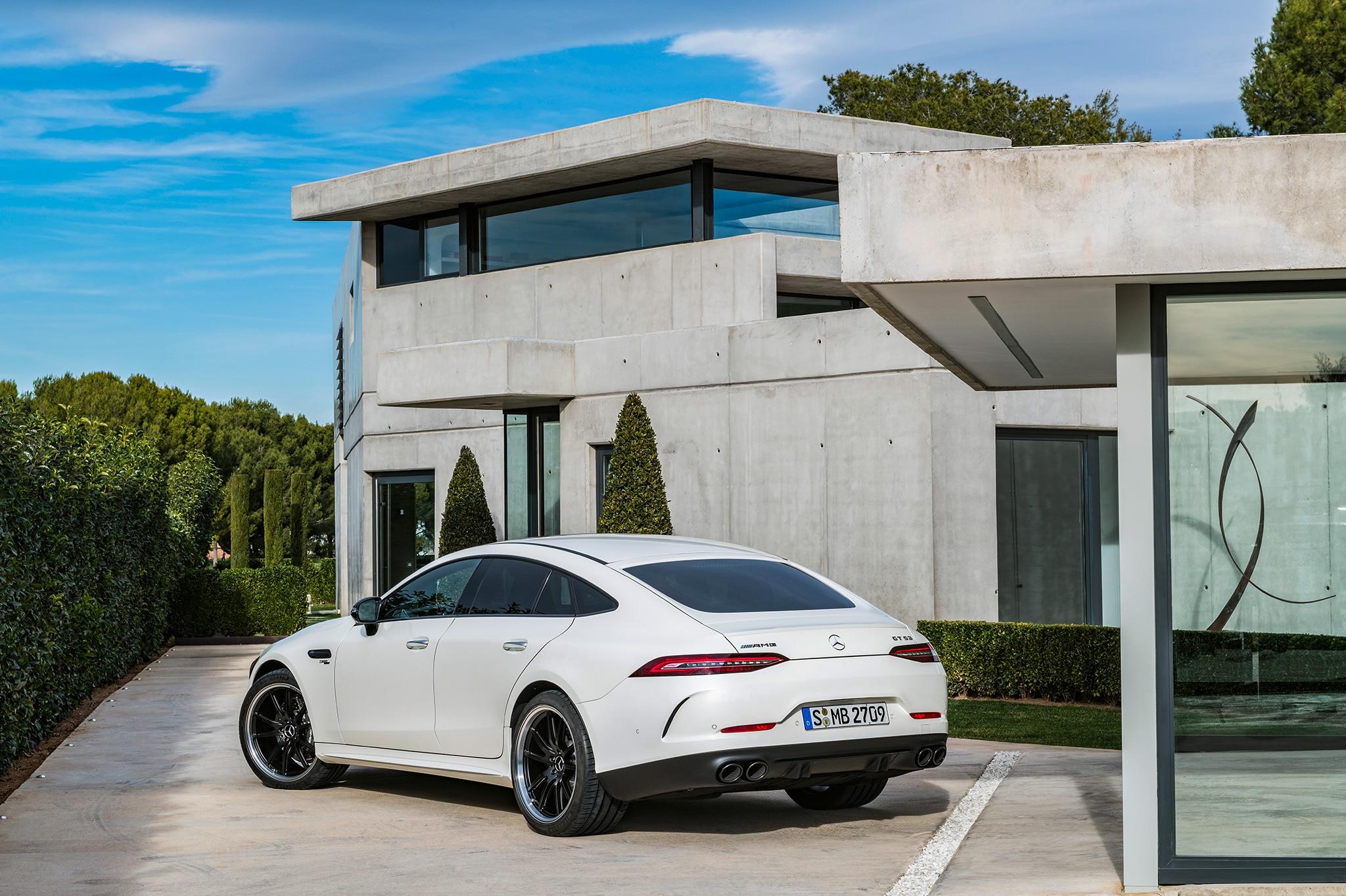 2019 Mercedes Amg Gt 4 Door Coupe Arrives At Last Automobile Magazine