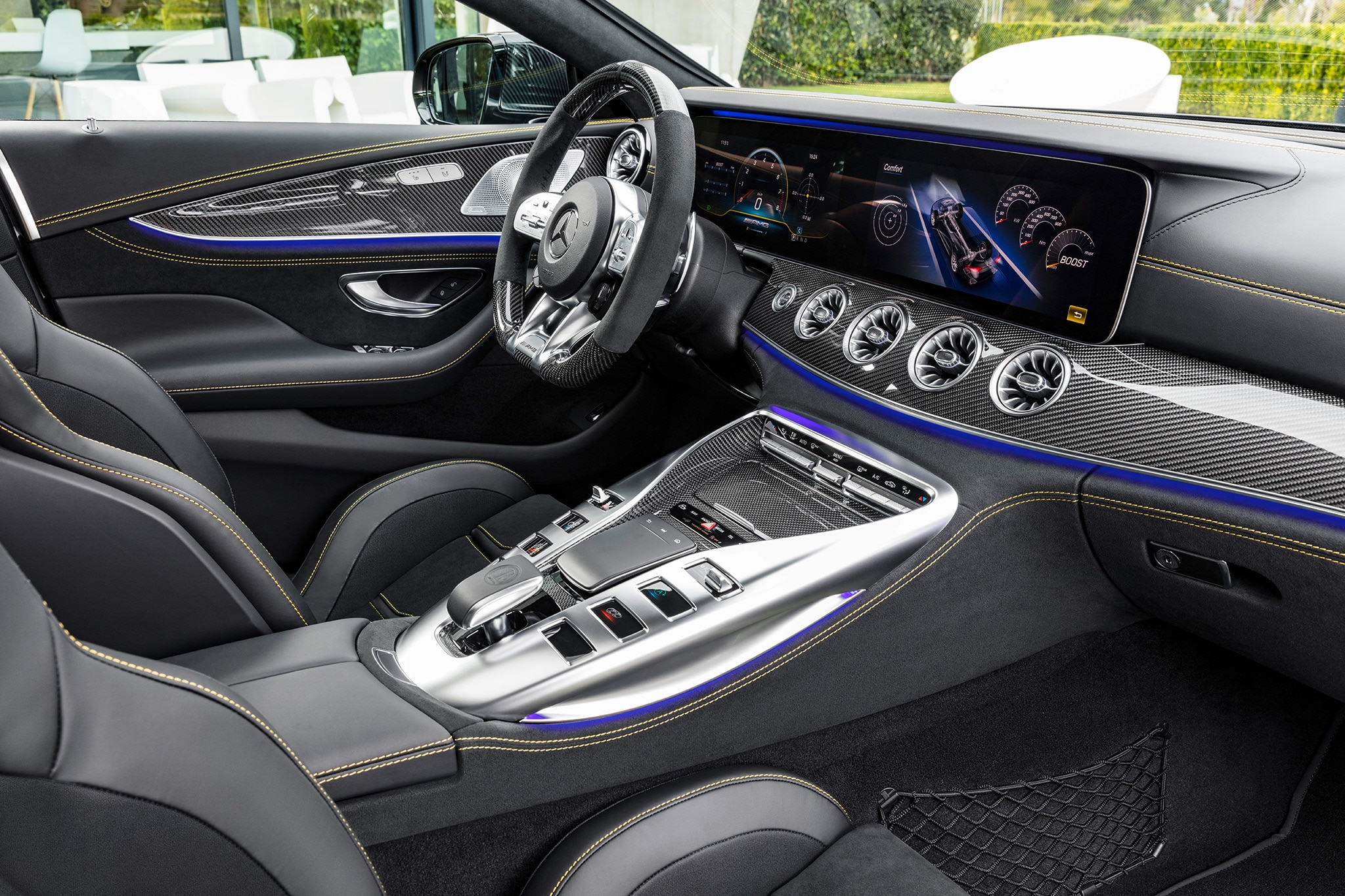 2019 Mercedes-AMG GT 4-Door Coupe Arrives at Last ...