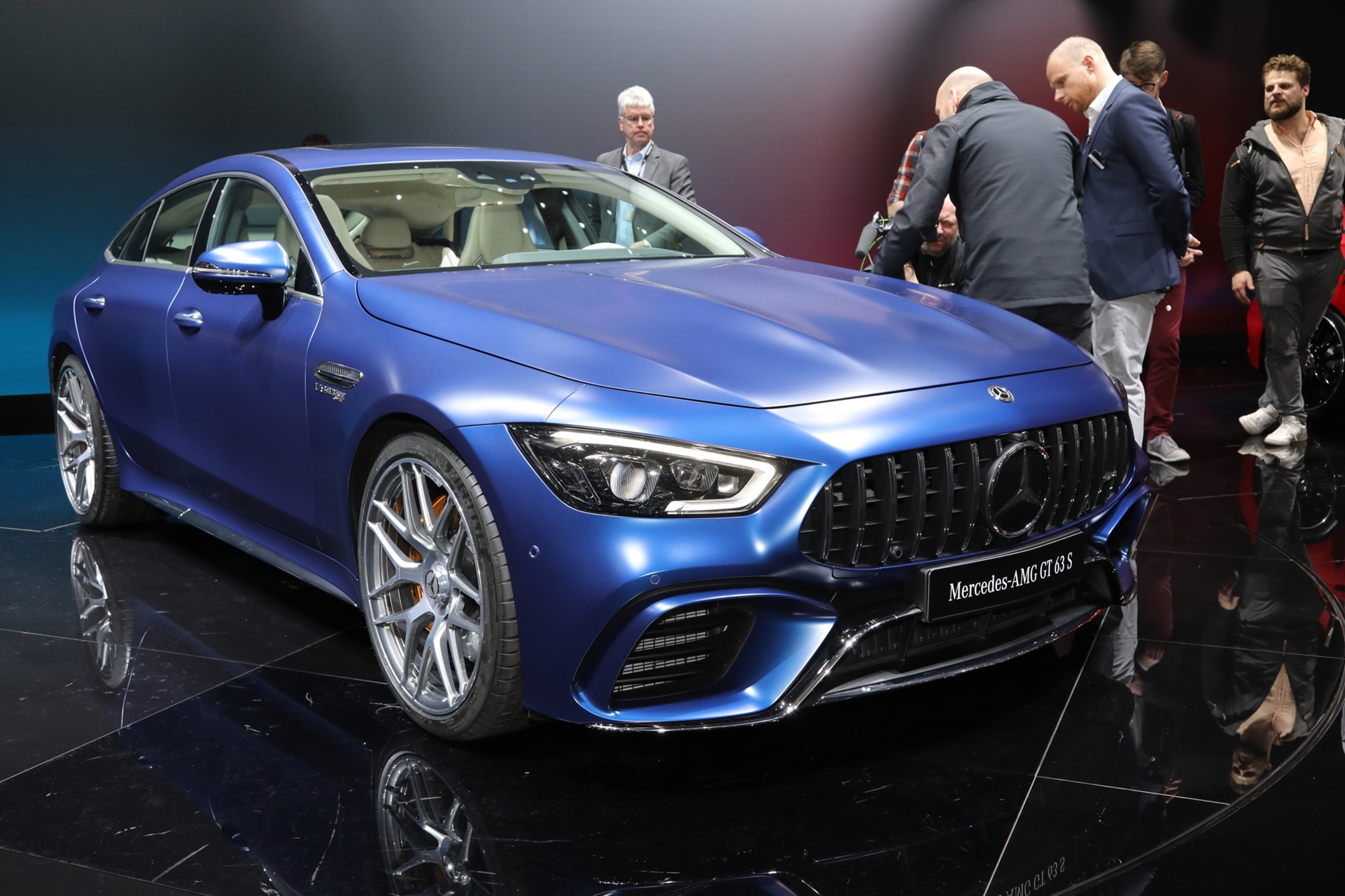 Five Things You Should Know About The 2019 Mercedes Amg Gt Four Door