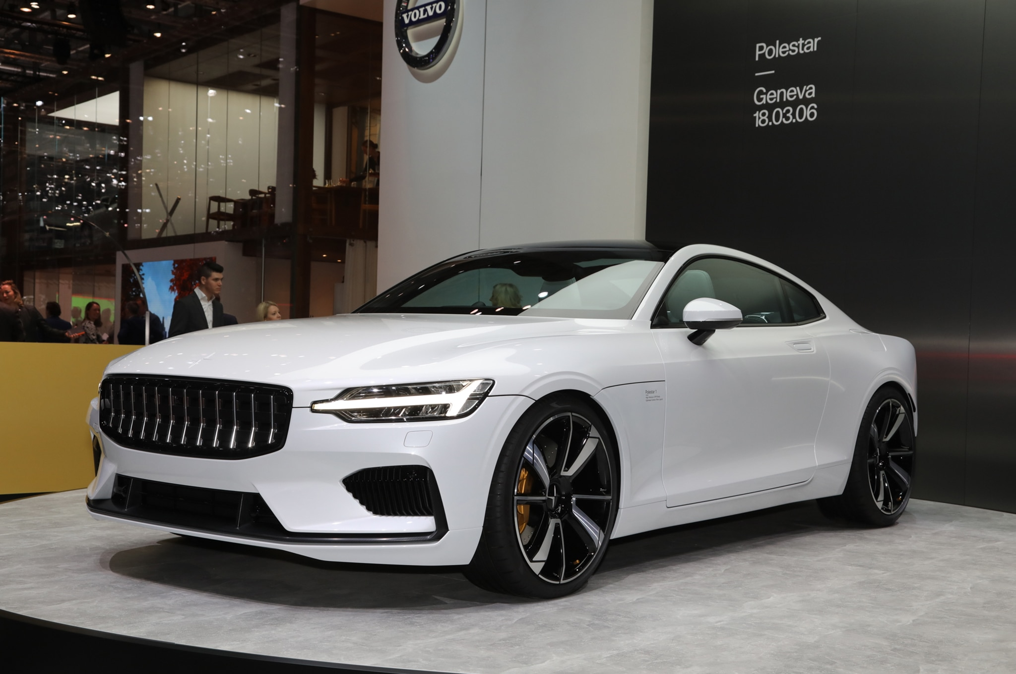 2019 Polestar 1 Front Three Quarter
