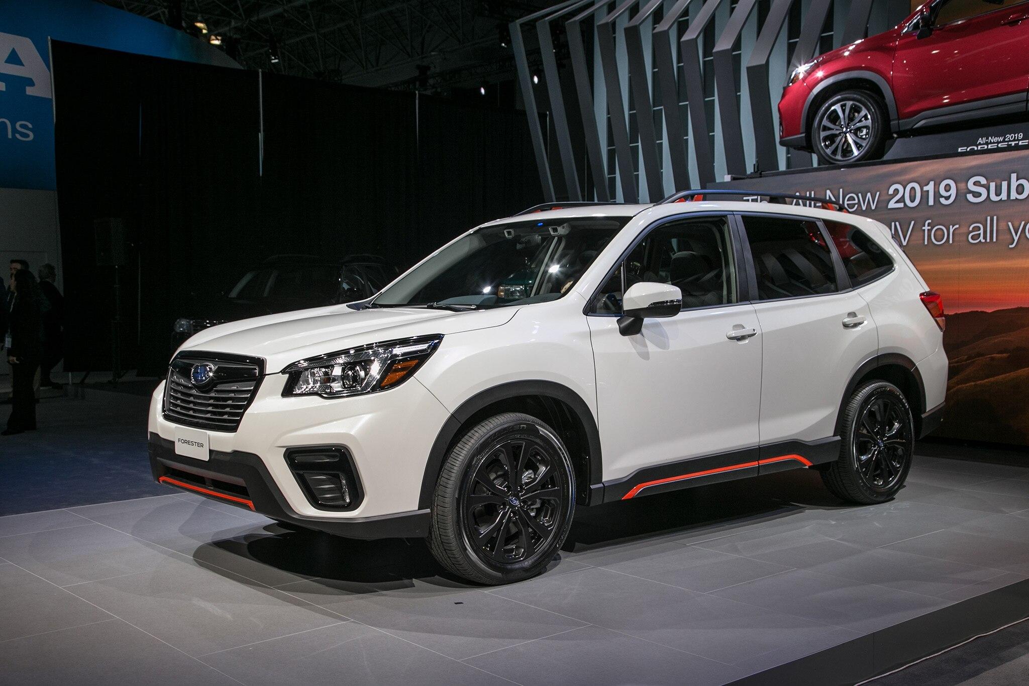 2019 Subaru Forester 2018 New York 01
