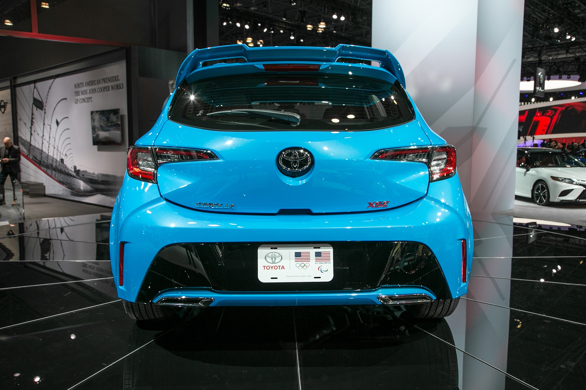 2019 Toyota Corolla Hatchback Hatches Outside Of Javits Center