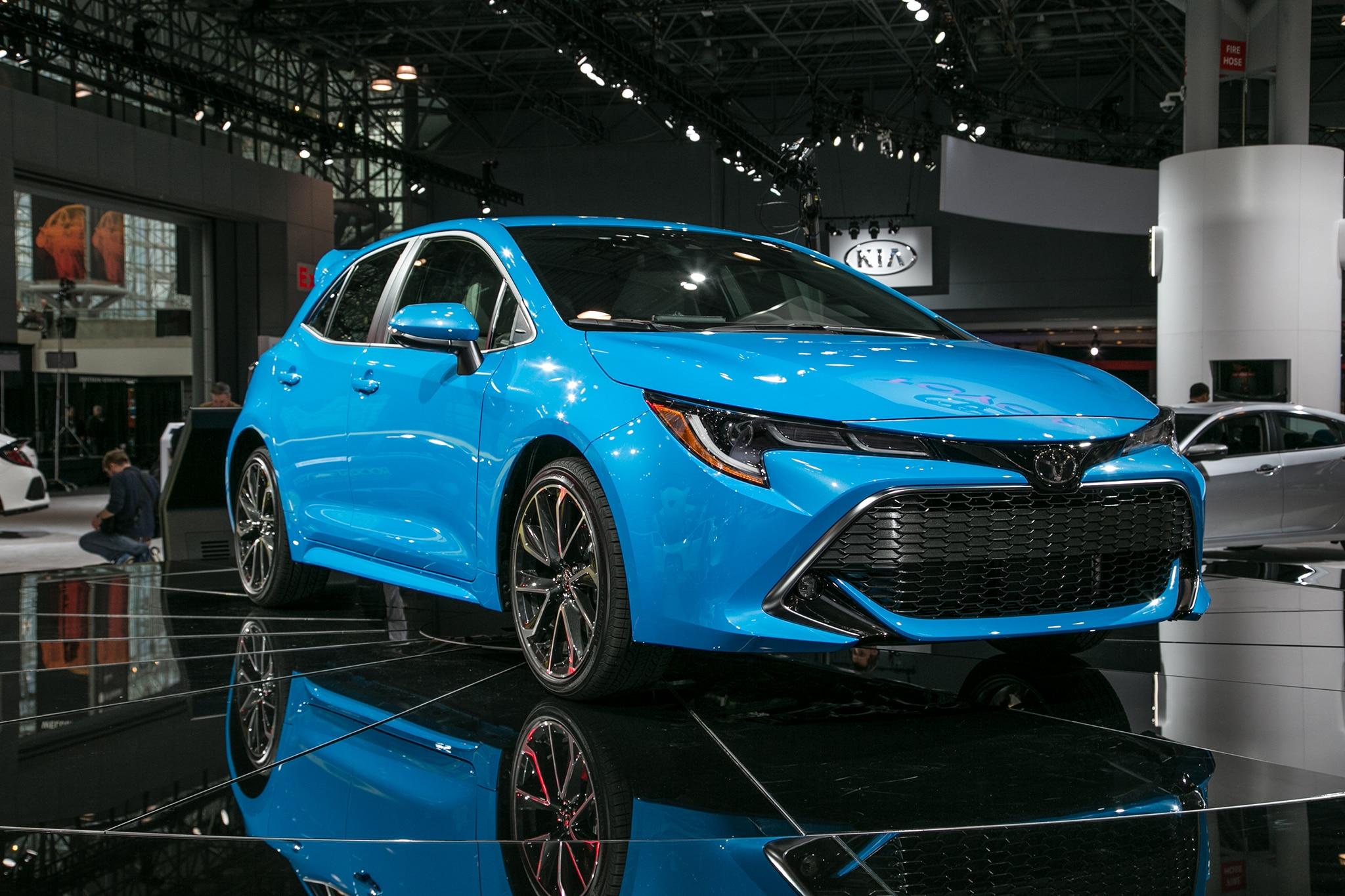 2019 Toyota Corolla Hatchback Hatches Outside Of Javits