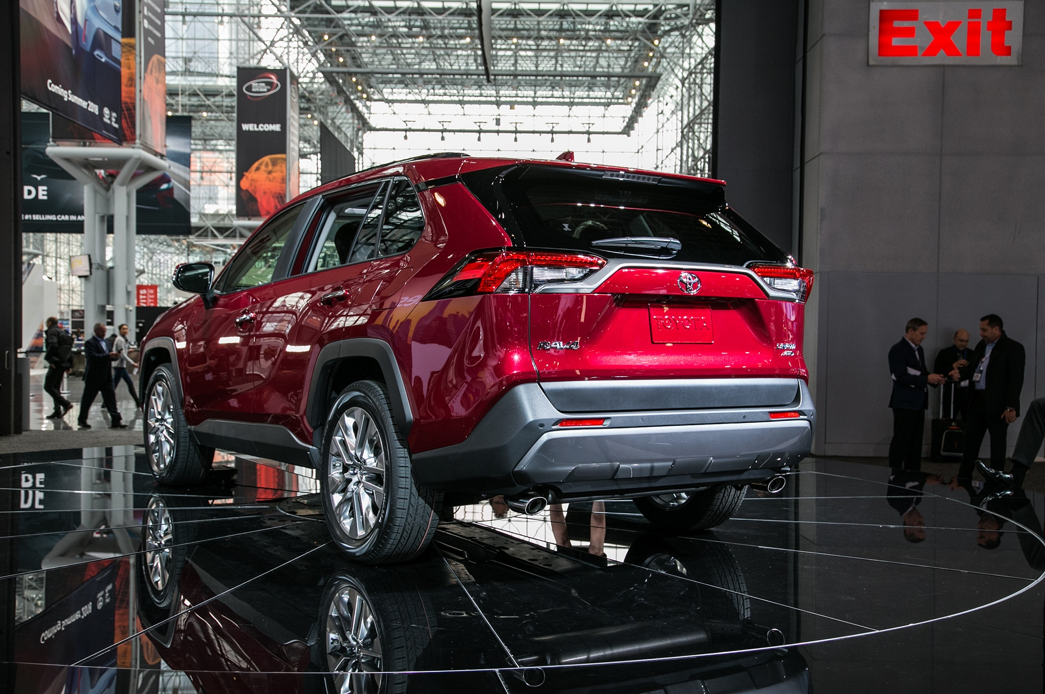 2019 Toyota Rav4 Hits The Gym Automobile Magazine