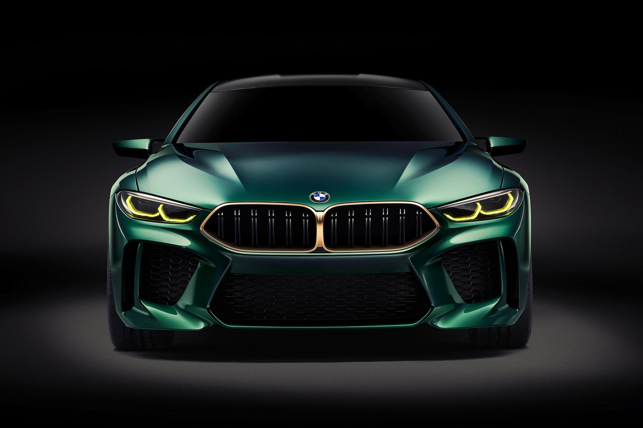 Four Door Bmw Concept M8 Gran Coupe Concept Unveiled In Geneva