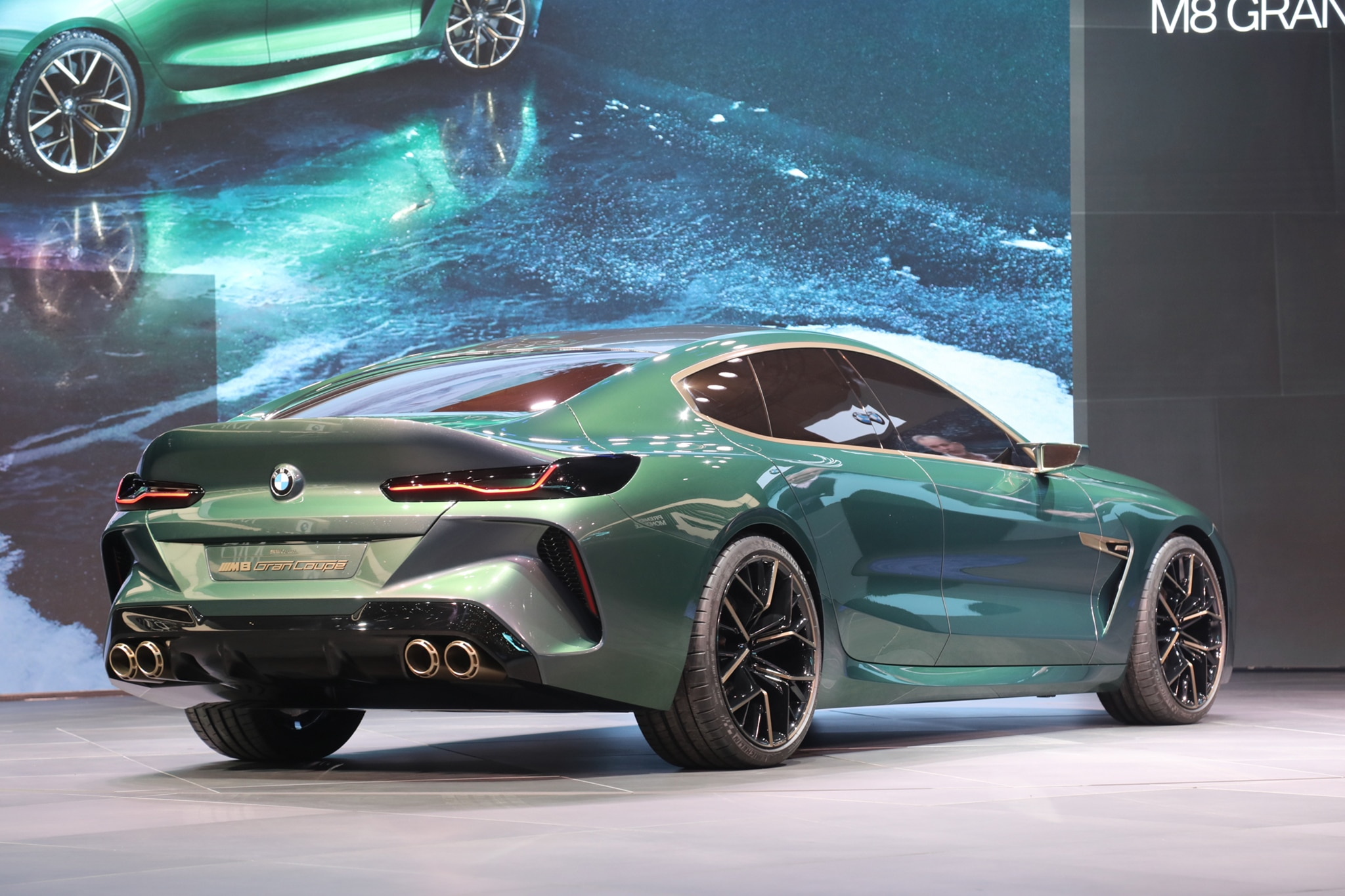 Four Door Bmw Concept M8 Gran Coupe Concept Unveiled In Geneva