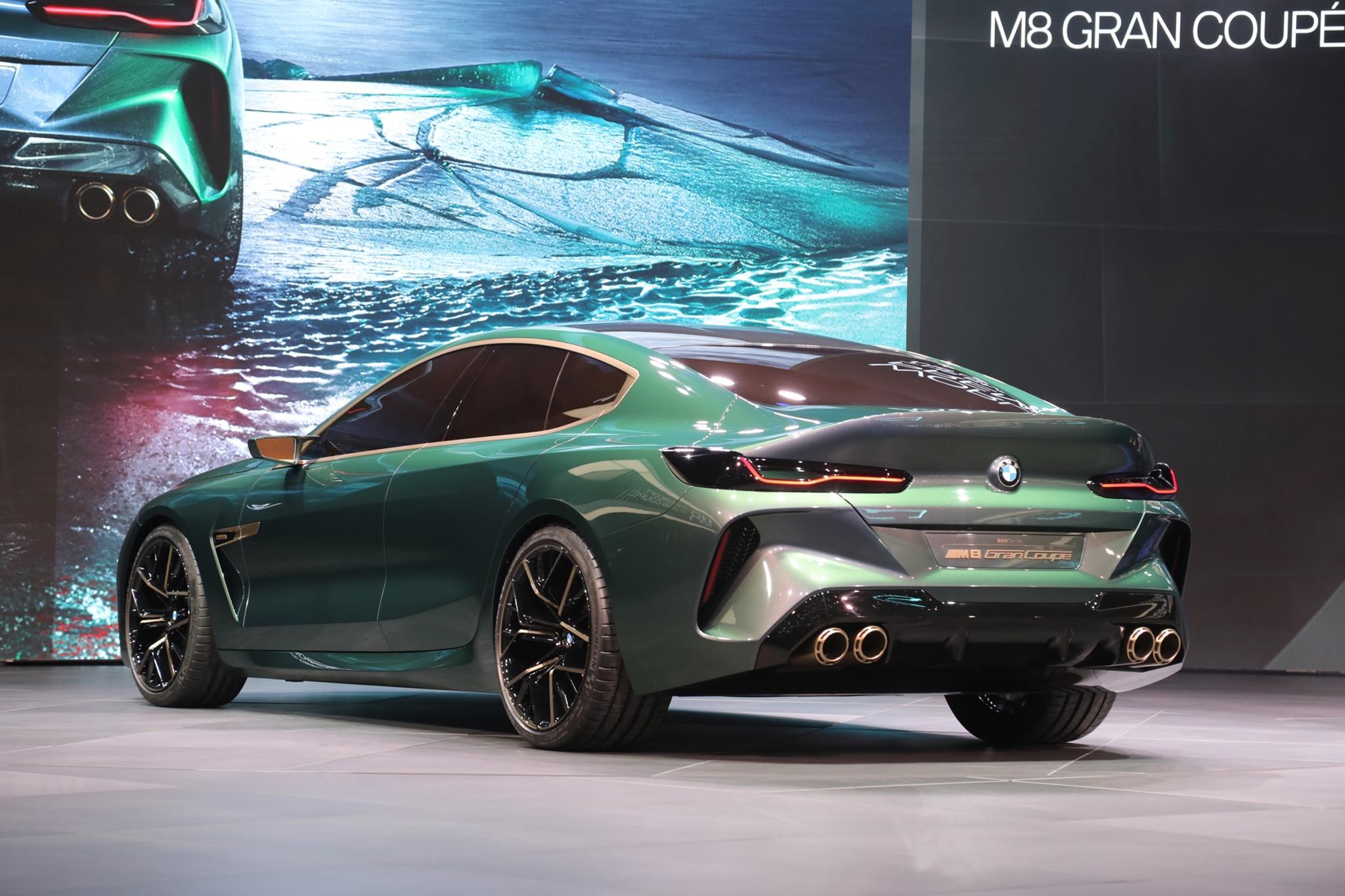 Four-Door BMW Concept M8 Gran Coupe Concept Unveiled in Geneva ...