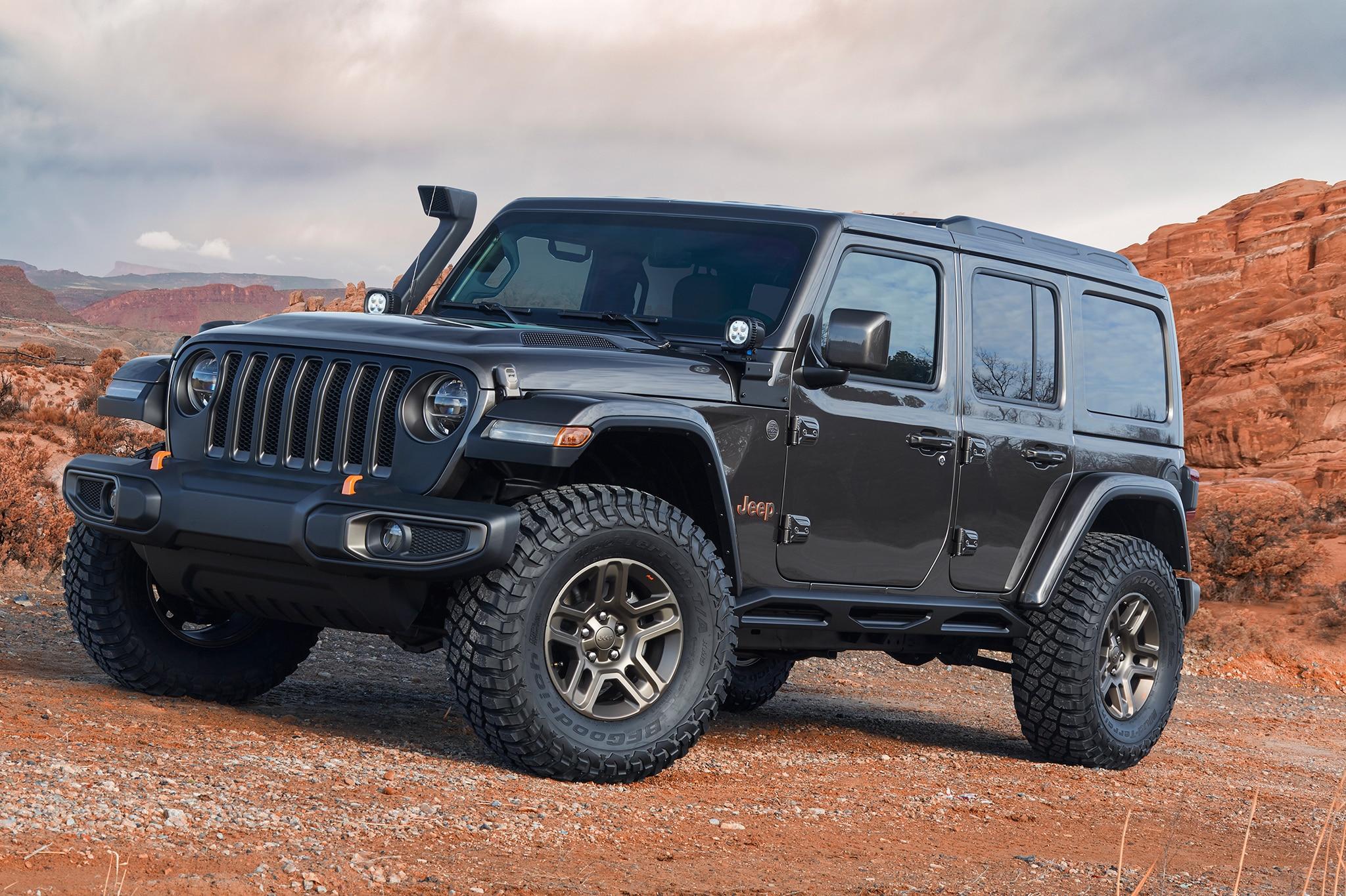 Seven Super Jeep And Mopar Customs Ready To Roll Automobile Magazine