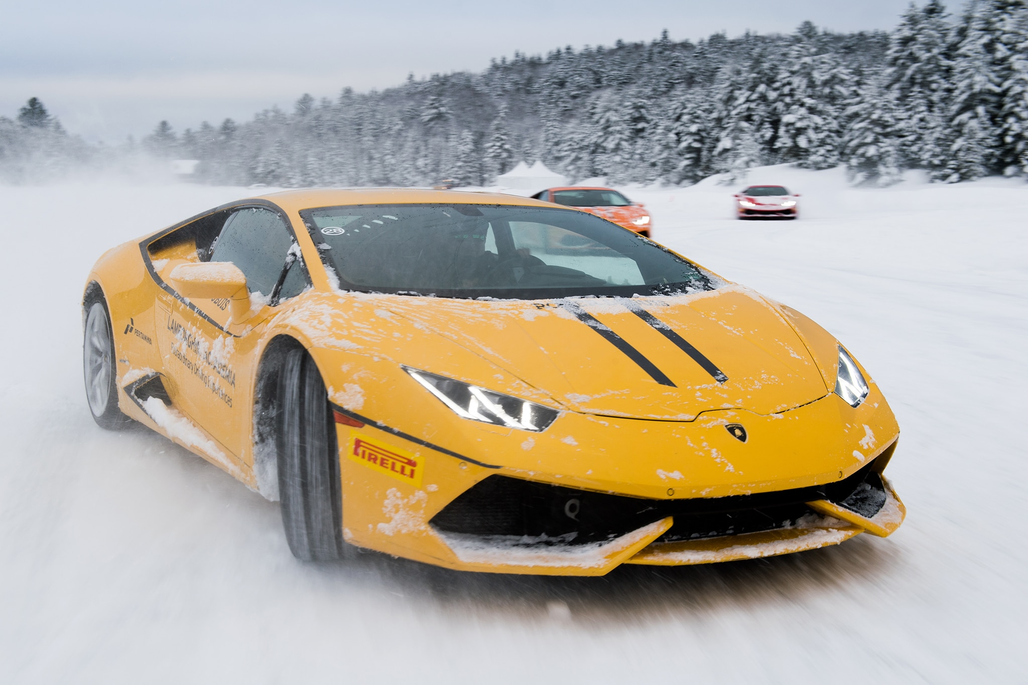 Lamborghini Winter Accademia Driving Program 80