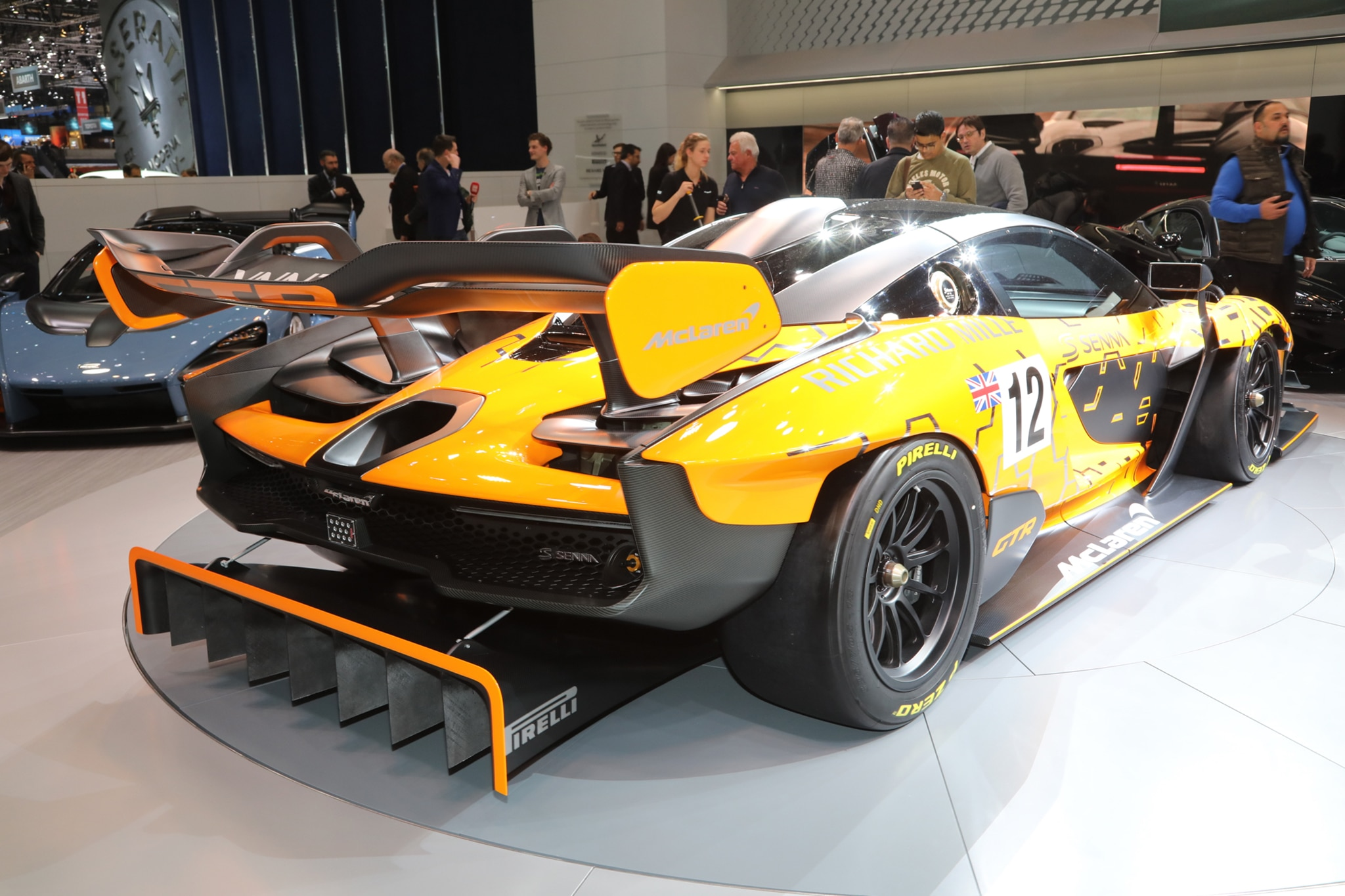 five things you should know about the mclaren senna gtr automobile magazine. Black Bedroom Furniture Sets. Home Design Ideas