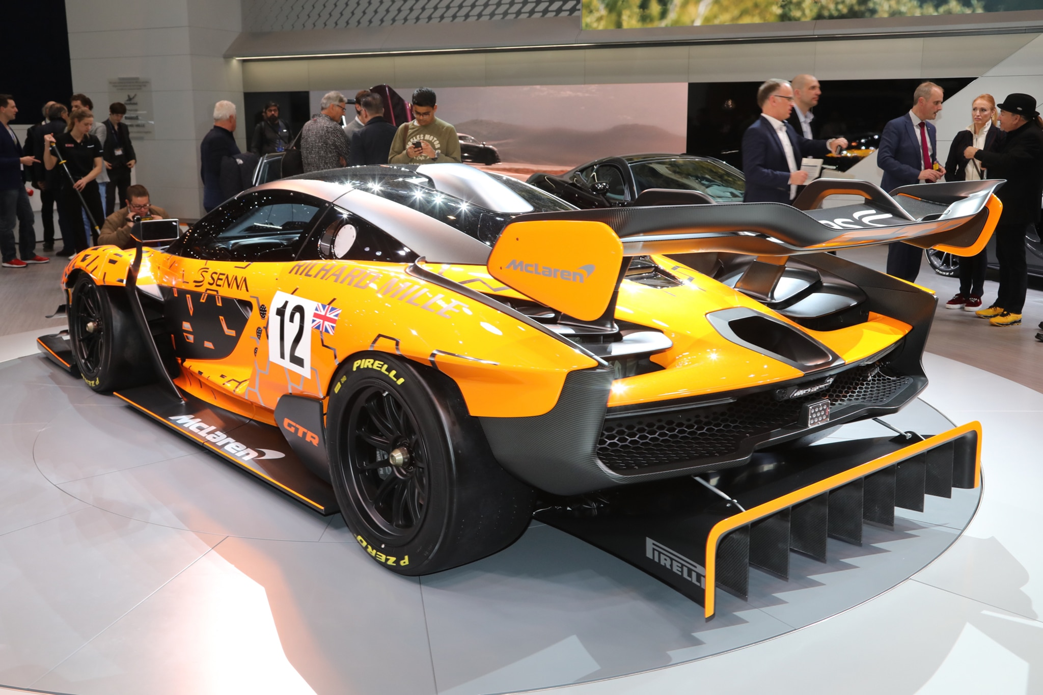2019 Mclaren Senna Gtr Is The Quickest Mclaren Outside Formula 1 Automobile Magazine