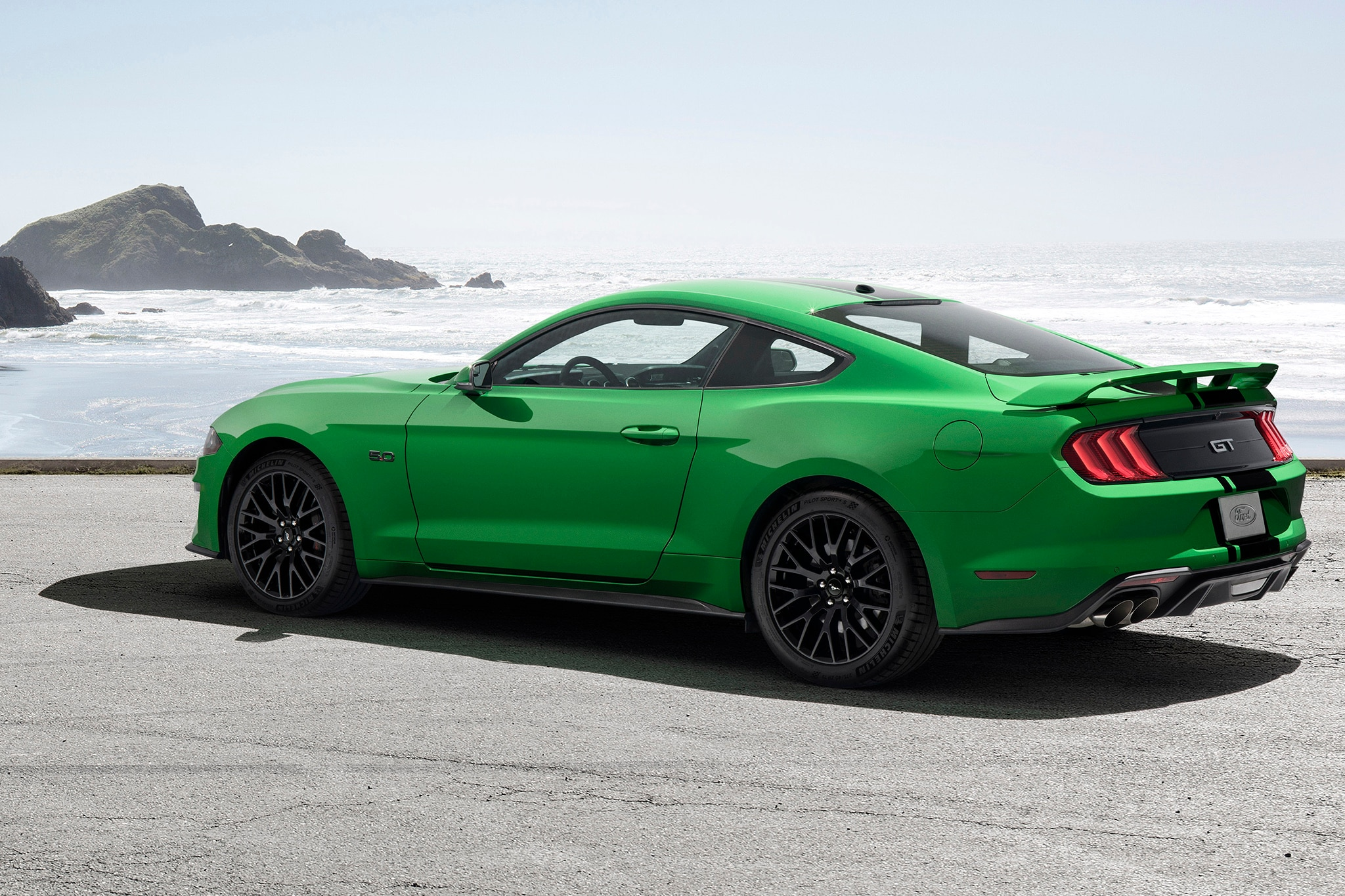 2019 Ford Mustang Gets a Splash of Need for Green ... Mustang