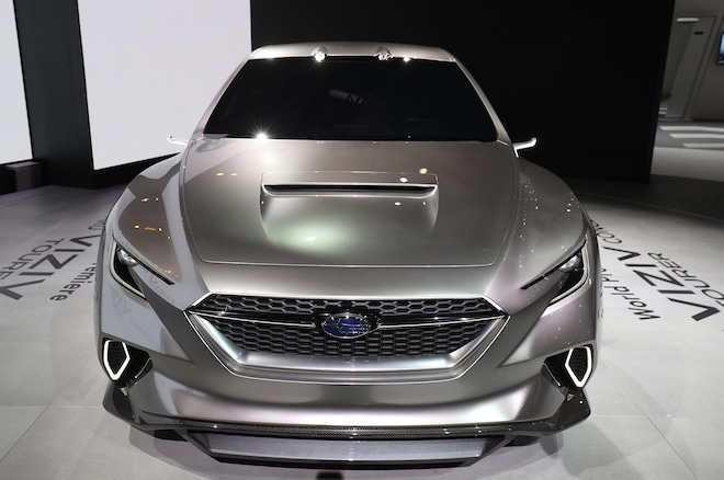 Subaru Viziv Tourer Concept Is A Wagon To Die For Automobile Magazine