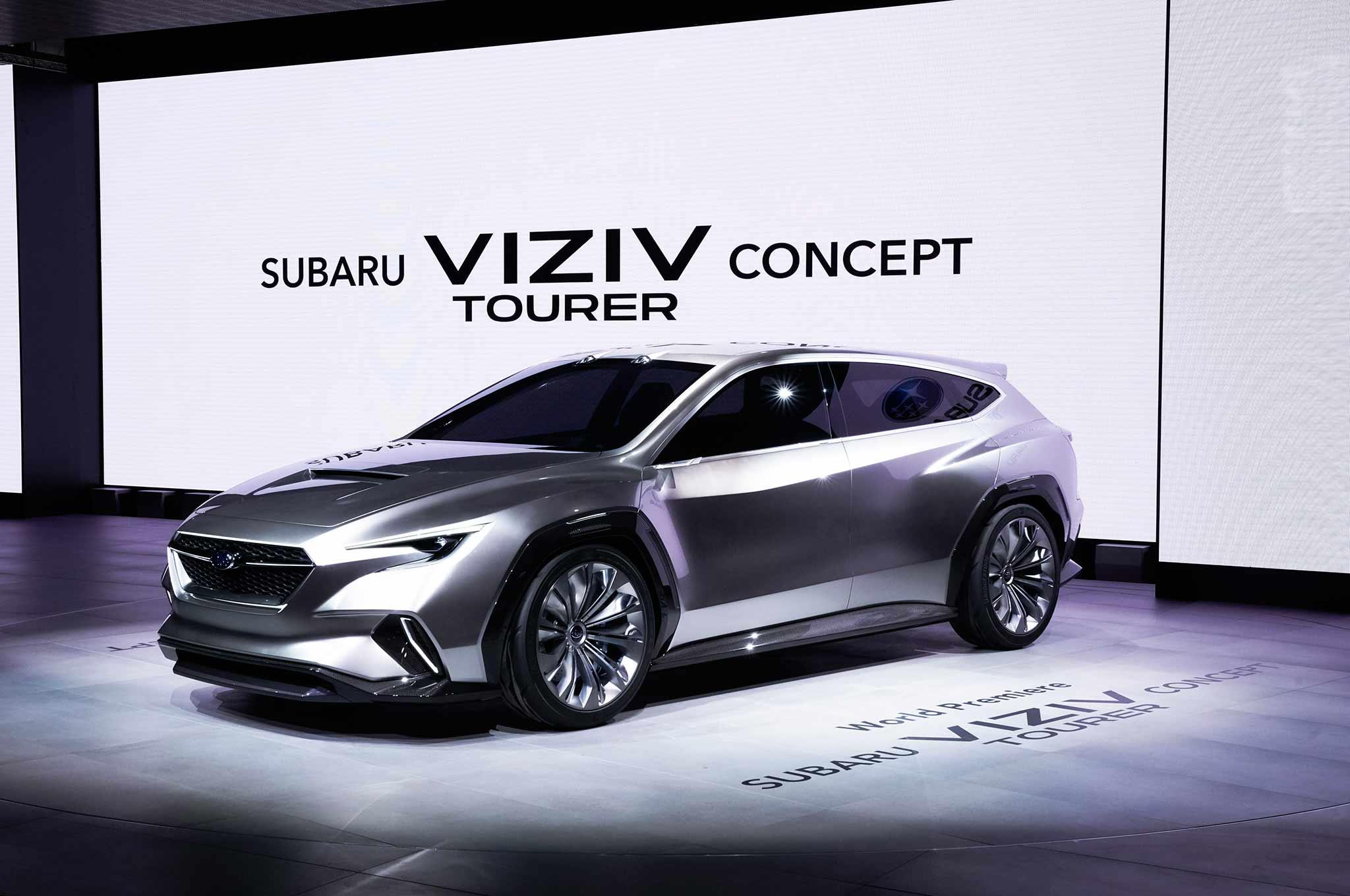 Subaru VIZIV Touring Concept 10